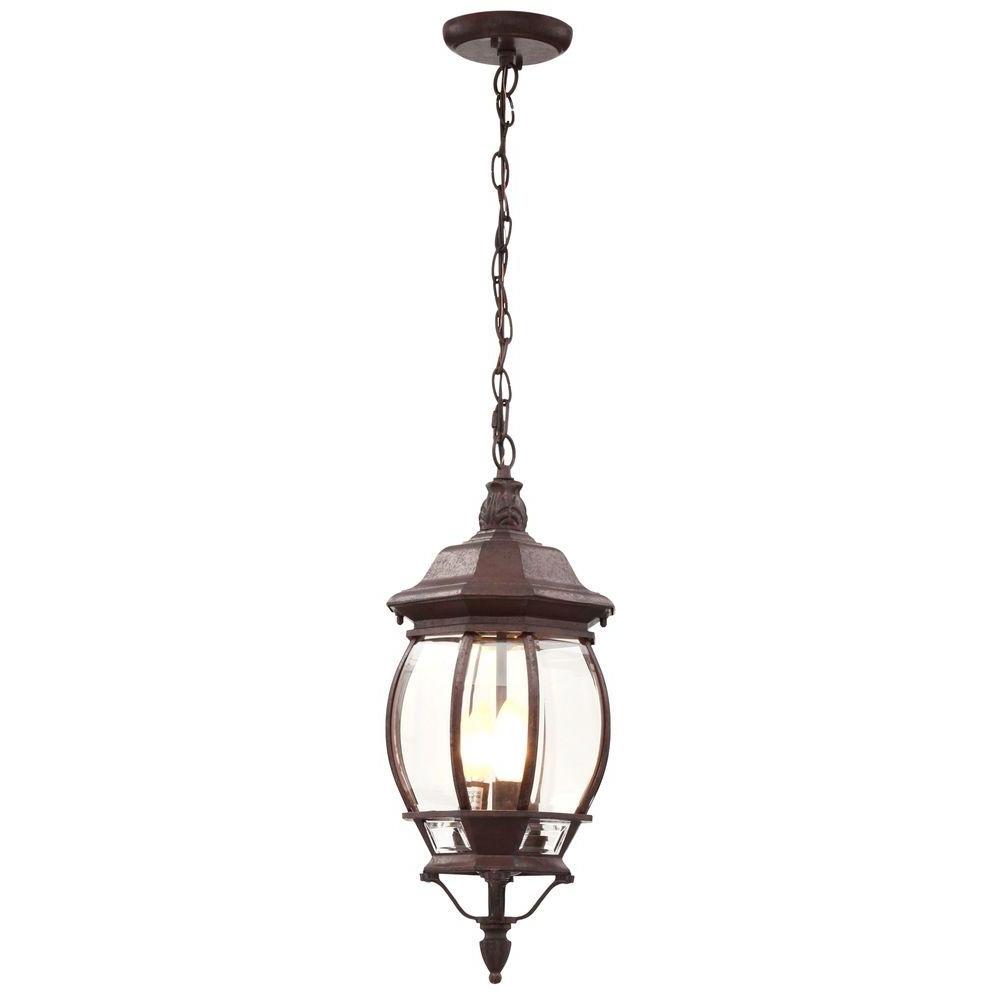Most Recent Outdoor Weather Resistant Lanterns In 3 Light Outdoor Hanging Incandescent Lantern Old Bronze Weather (View 7 of 20)