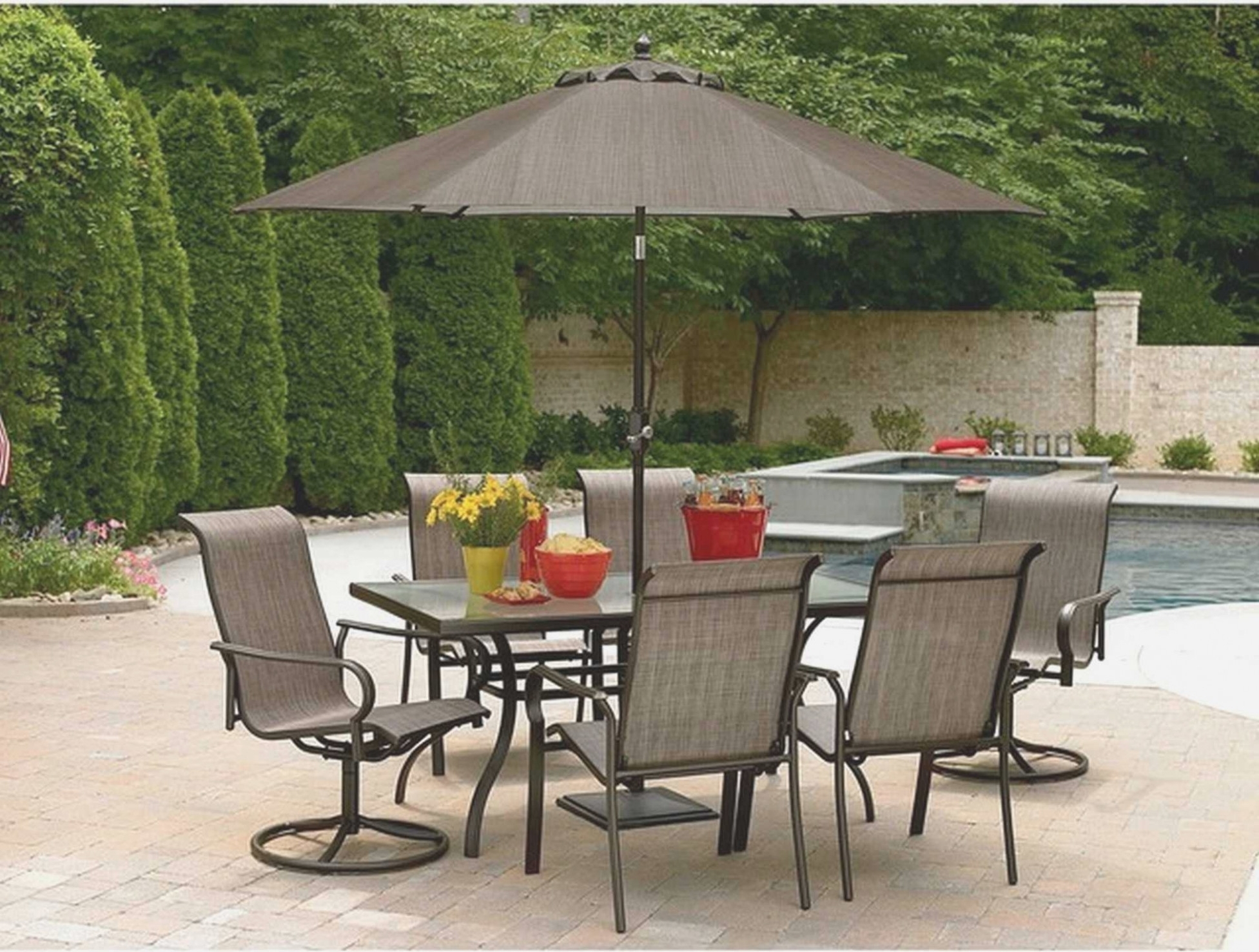 Most Recent Sears Patio Umbrella Inspirational Patio Sears Patio Umbrellas Brown With Patio Umbrellas With Table (View 4 of 20)