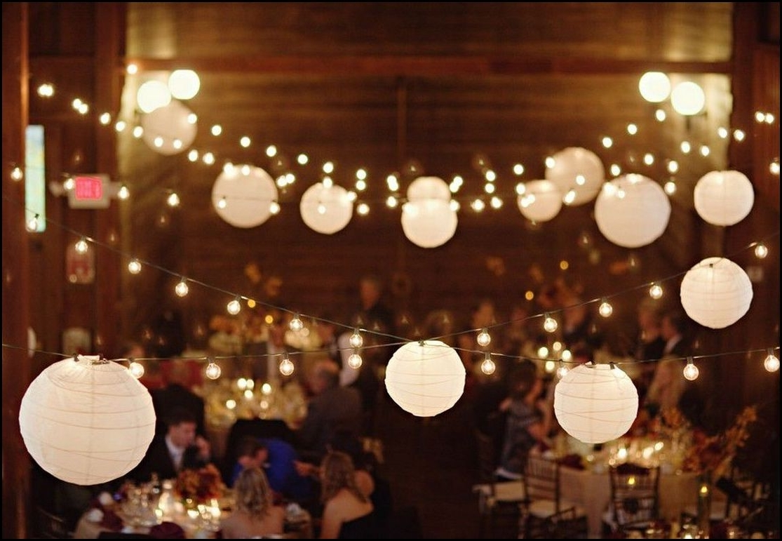 Most Recent White Paper Lantern String Lights (View 3 of 20)