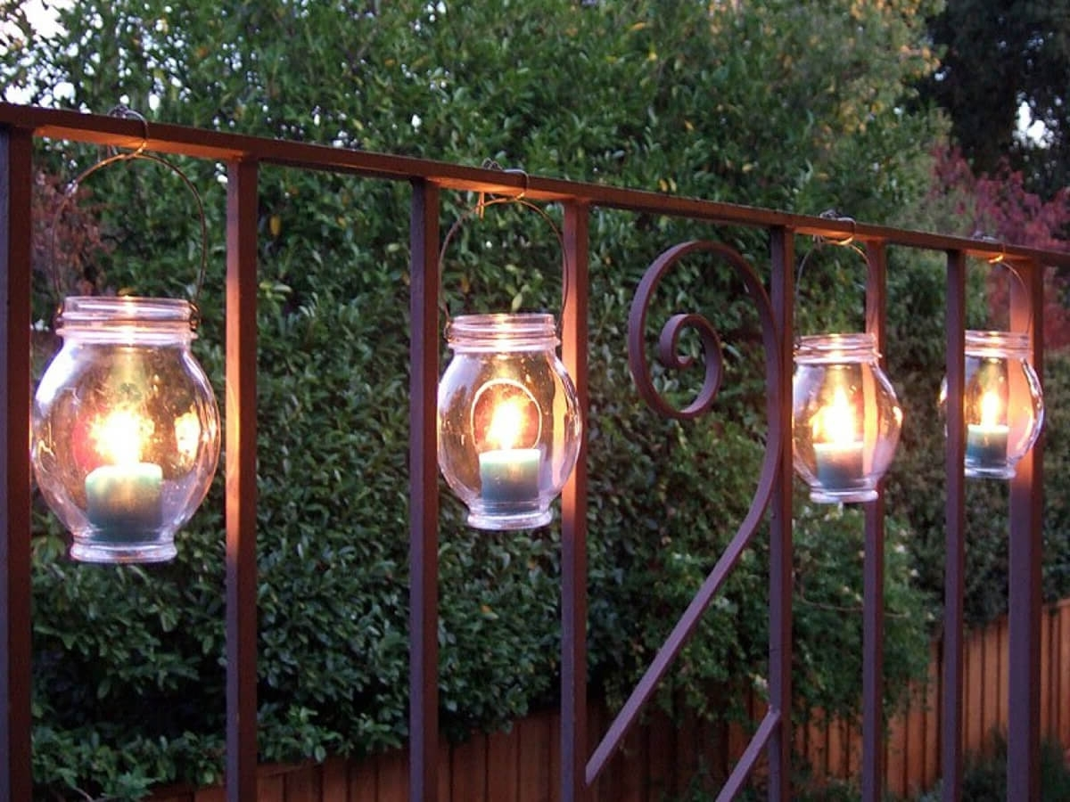 Most Recently Released 25 Best Diy Outdoor Lighting Ideas And Designs For 2018 Inside Diy Outdoor Lanterns (View 17 of 20)