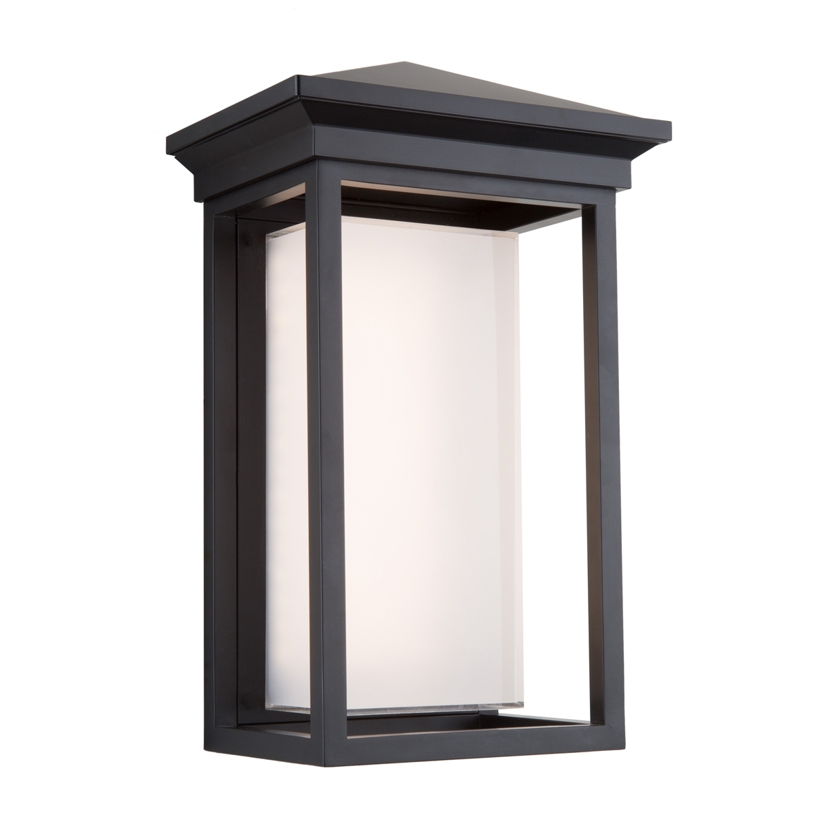 Most Recently Released Artcraft Lighting Ac9132Bk Outdoor Lanterns Black Cast Aluminum Inside Black Outdoor Lanterns (View 14 of 20)