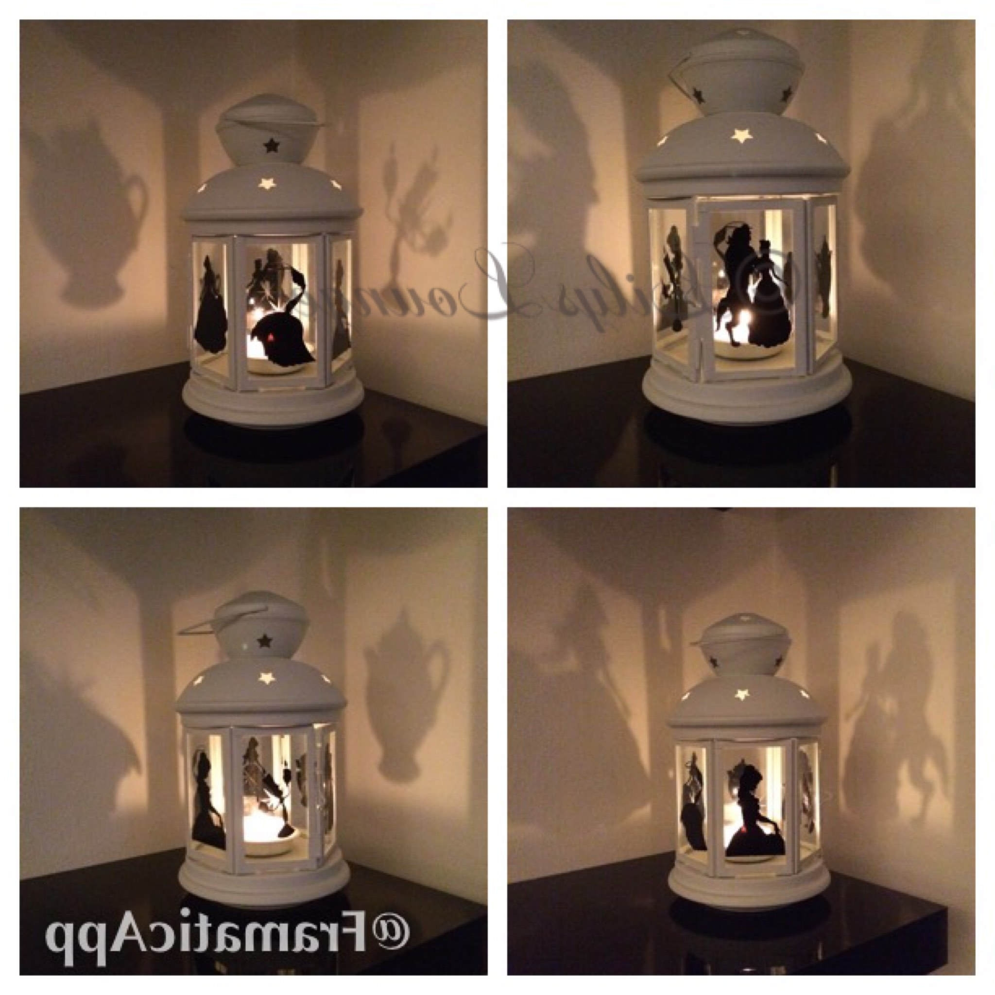 Most Recently Released Beauty And The Beast Inspired Lantern Tea Light Holder (View 11 of 20)