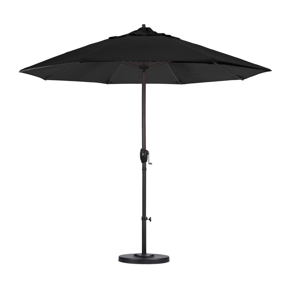 Most Recently Released Black Patio Umbrellas In California Umbrella 9 Ft (View 15 of 20)