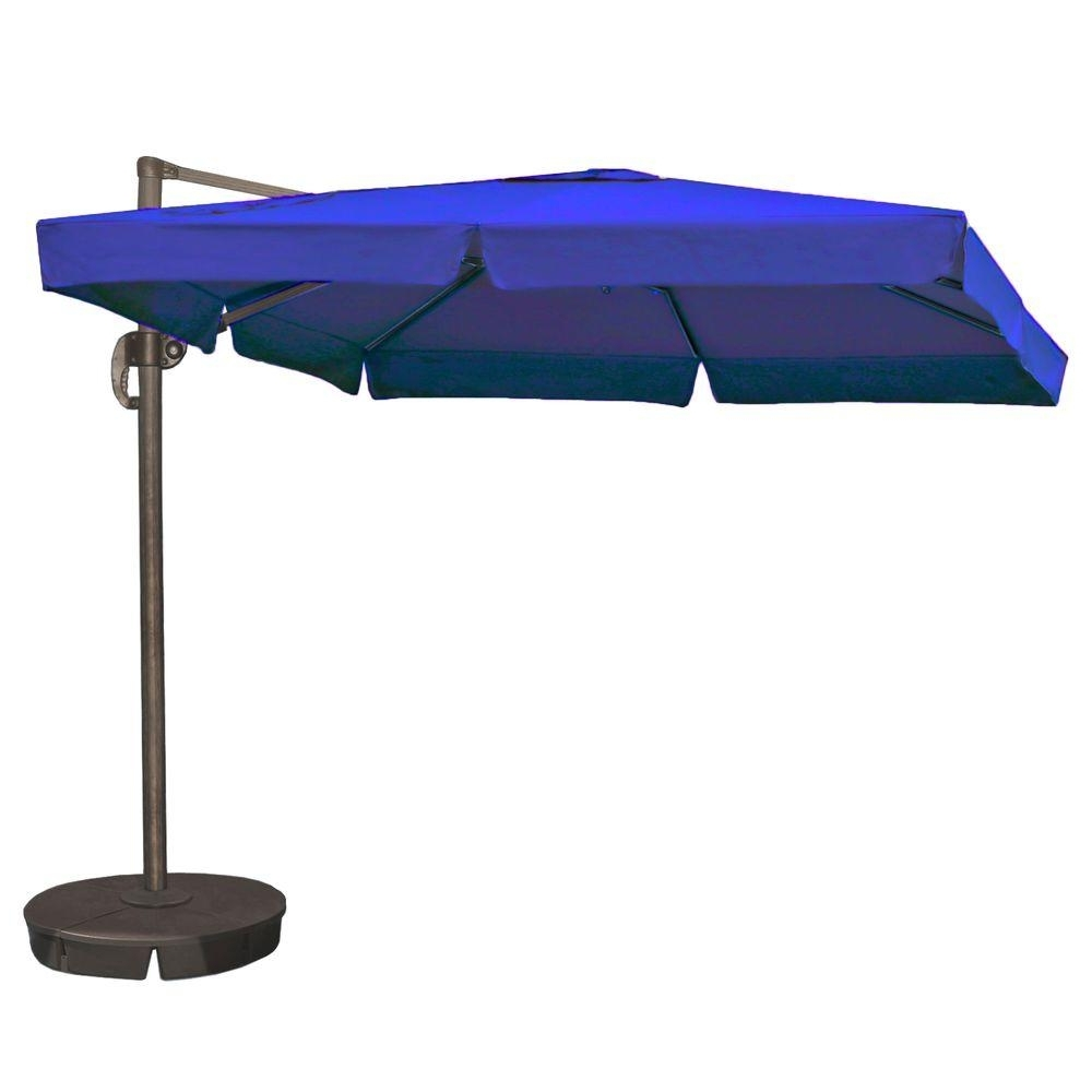 Most Recently Released Island Umbrella Santorini Ii 10 Ft (View 5 of 20)
