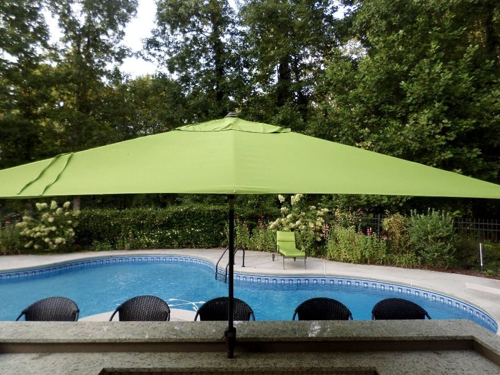 Most Recently Released Large Patio Umbrellas In Outdoor Umbrellas – Your Guide To Selecting A Patio Umbrella (View 19 of 20)