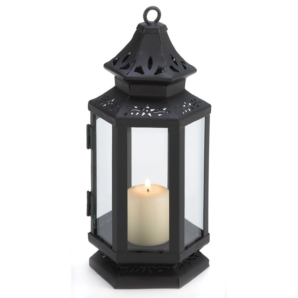 Most Recently Released Outdoor Iron Lanterns In Candle Lantern Decor, Small Iron Stagecoach Outdoor Metal Candle (View 11 of 20)