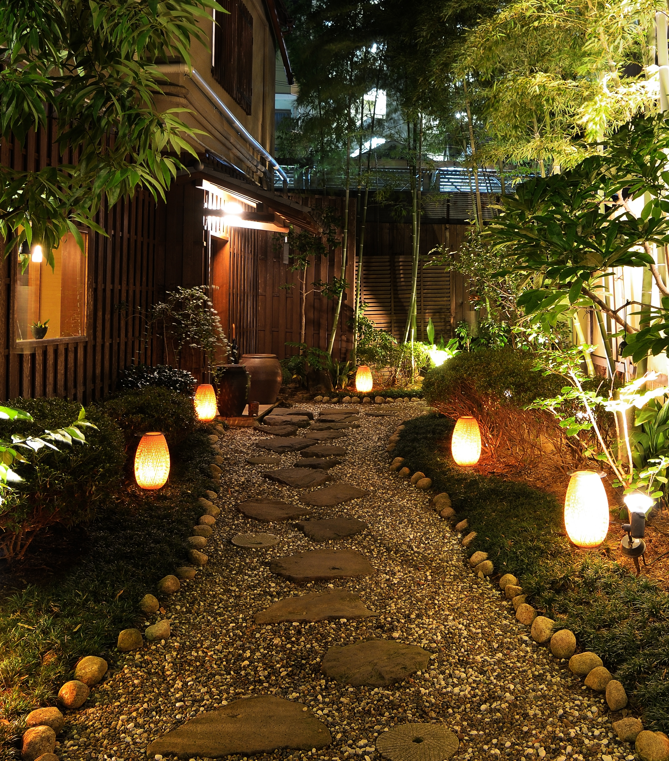 Most Recently Released Outdoor Landscape Lanterns Pertaining To Illuminating Your Path: Using Landscape Lighting To Define Outdoor (View 5 of 20)