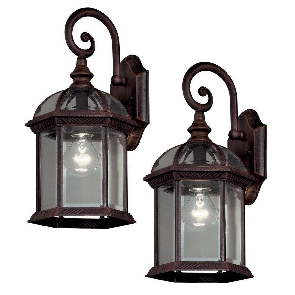Most Recently Released Outdoor Lanterns With Photocell Pertaining To 2018 Latest Outdoor Wall Lighting With Photocell (View 15 of 20)