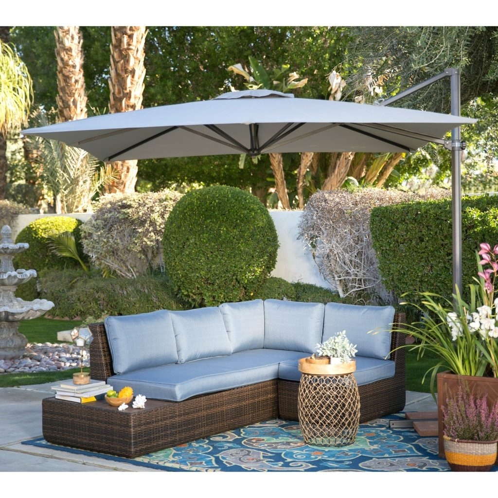 Most Recently Released Patio Ideas ~ Outdoor Patio Furniture Cushions Sunbrella Patio Regarding Sunbrella Patio Umbrella With Lights (View 10 of 20)
