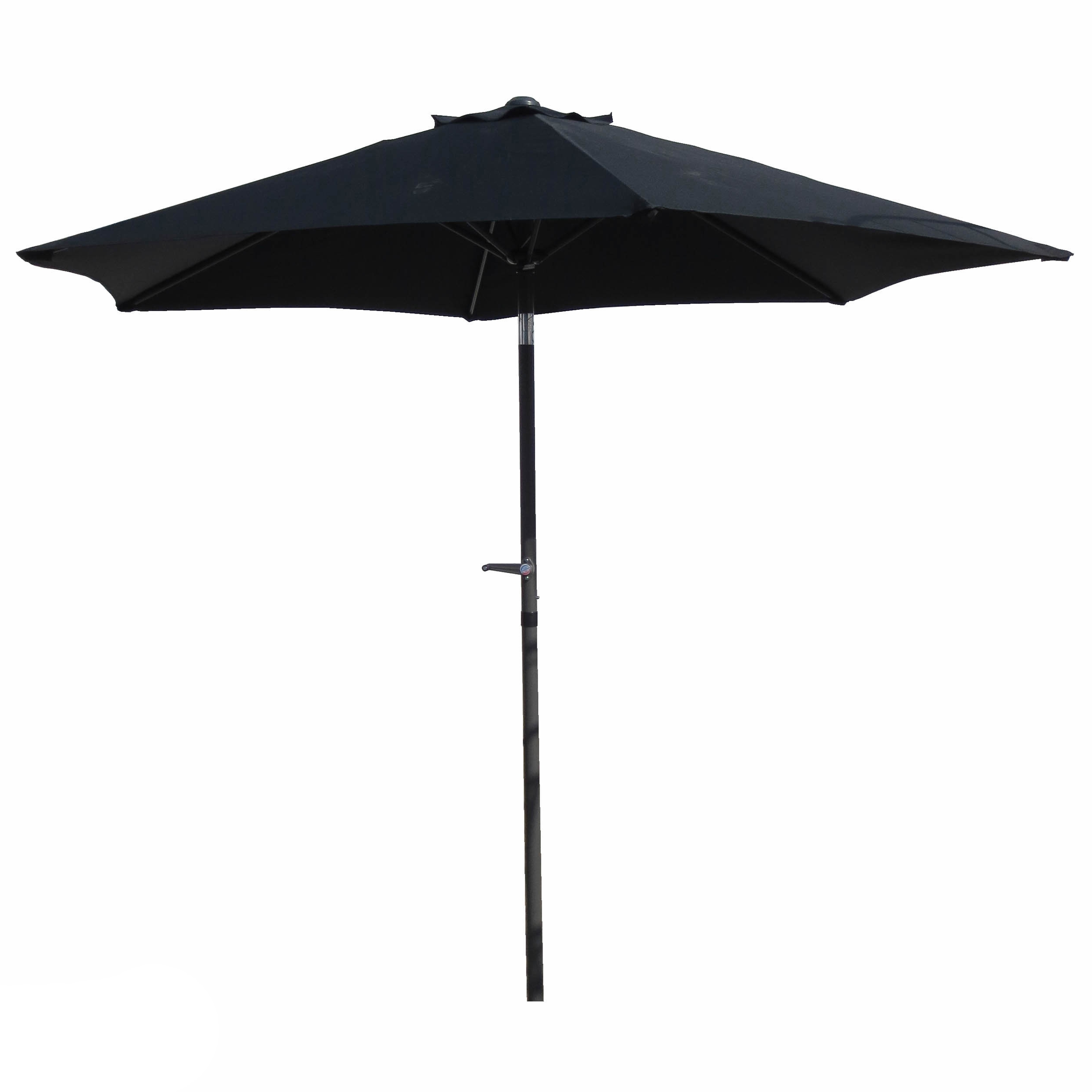 Most Recently Released Patio Umbrellas With White Pole With Regard To Shop International Caravan Patio Umbrella 8 Foot – On Sale – Free (View 7 of 20)