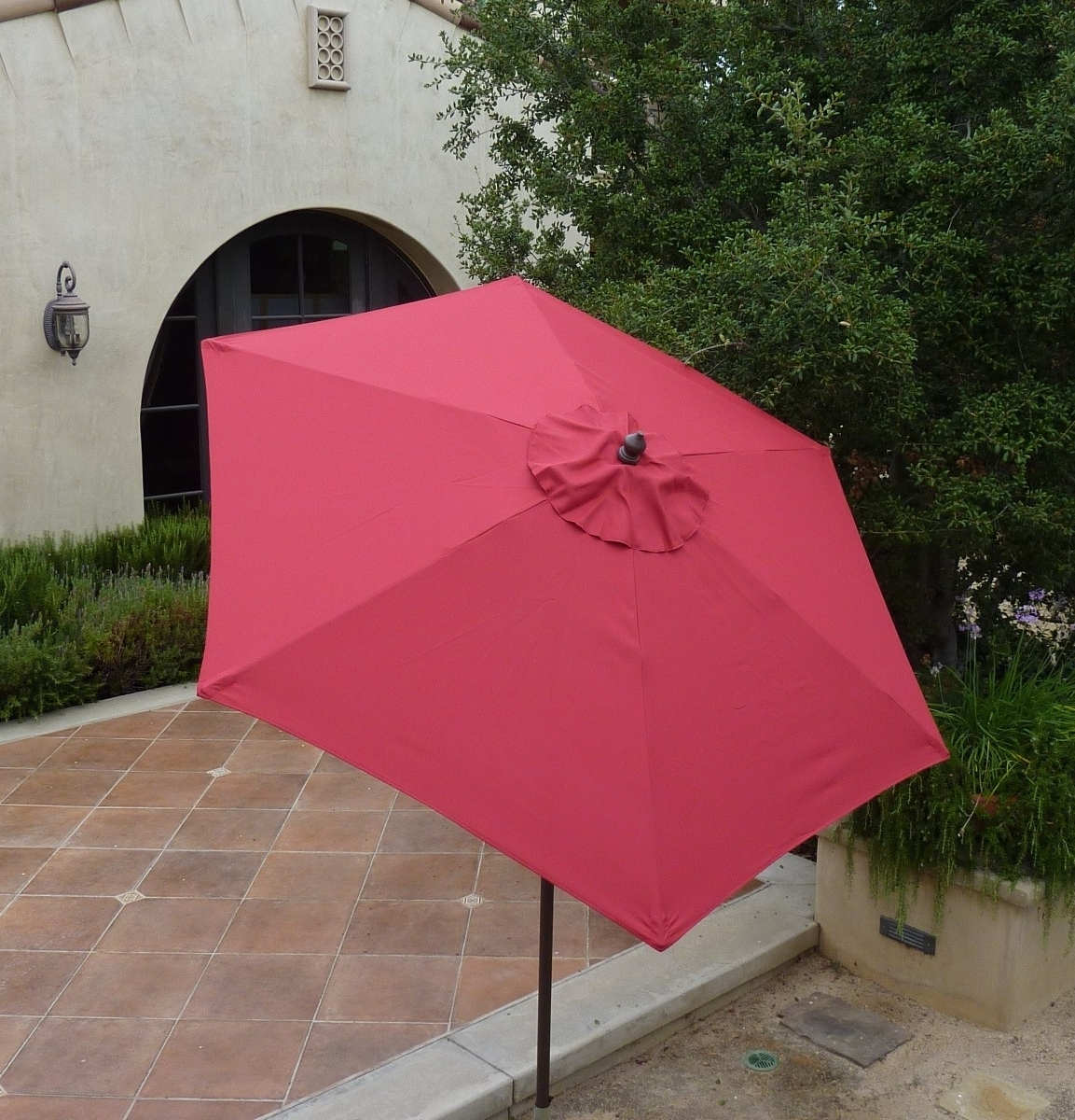 Most Recently Released Pink Patio Umbrellas Intended For 54 Pink Patio Umbrella, 6 Awesome Patio Umbrellas Excellence At Home (View 9 of 20)