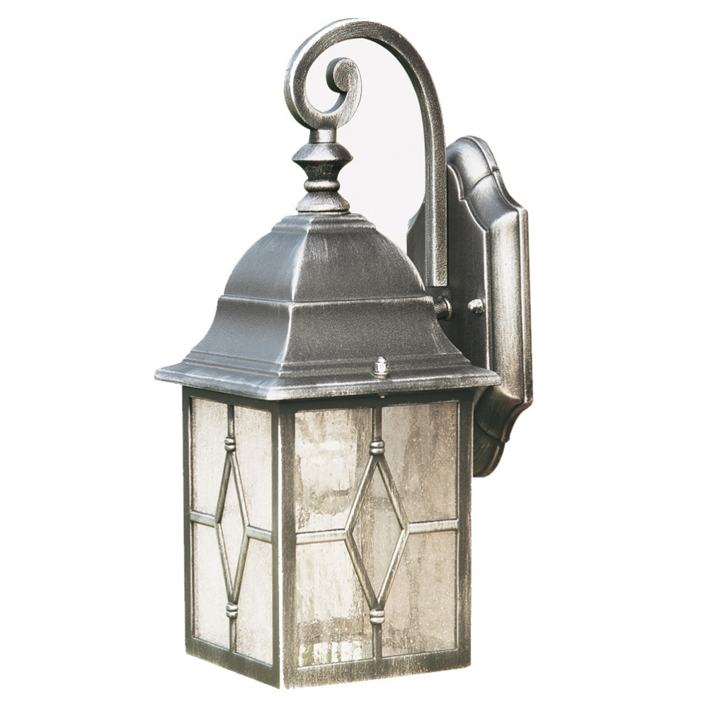 Most Recently Released Searchlight Geona Traditional Die Cast Aluminium Outdoor Lantern Pertaining To Outdoor Lanterns With Pir (View 8 of 20)
