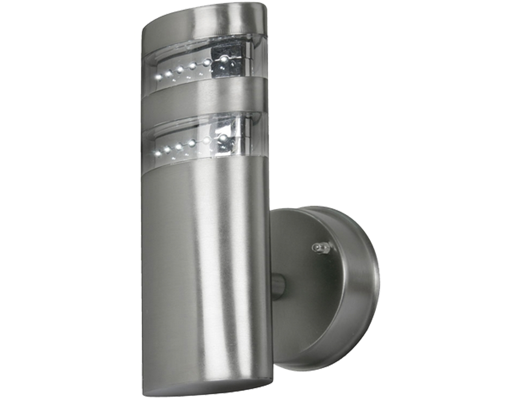 Most Recently Released Stainless Steel Outdoor Wall Lights From Easy Lighting Inside Outdoor Mains Lanterns (View 11 of 20)