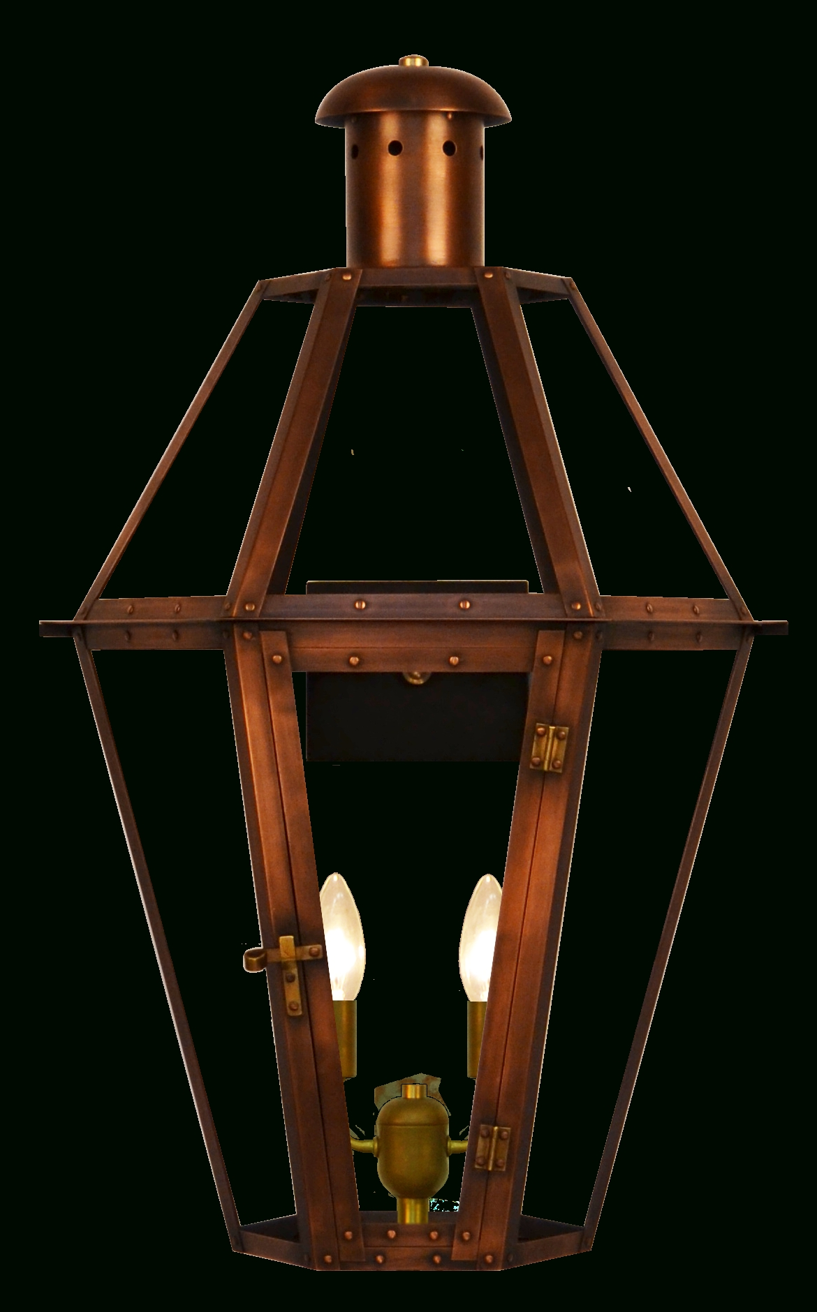 Most Recently Released The Coppersmith Mount Vernon Gas Or Electric Lantern Mount Vernon Regarding Outdoor Patio Electric Lanterns (View 2 of 20)