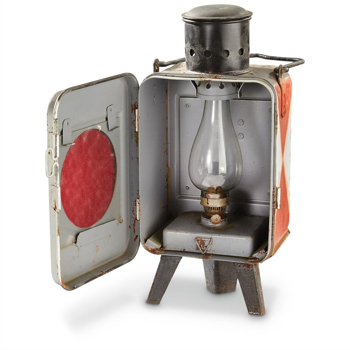 Most Recently Released Used Czech Military Surplus Railroad Lantern – 637234, Military Within Outdoor Railroad Lanterns (View 17 of 20)
