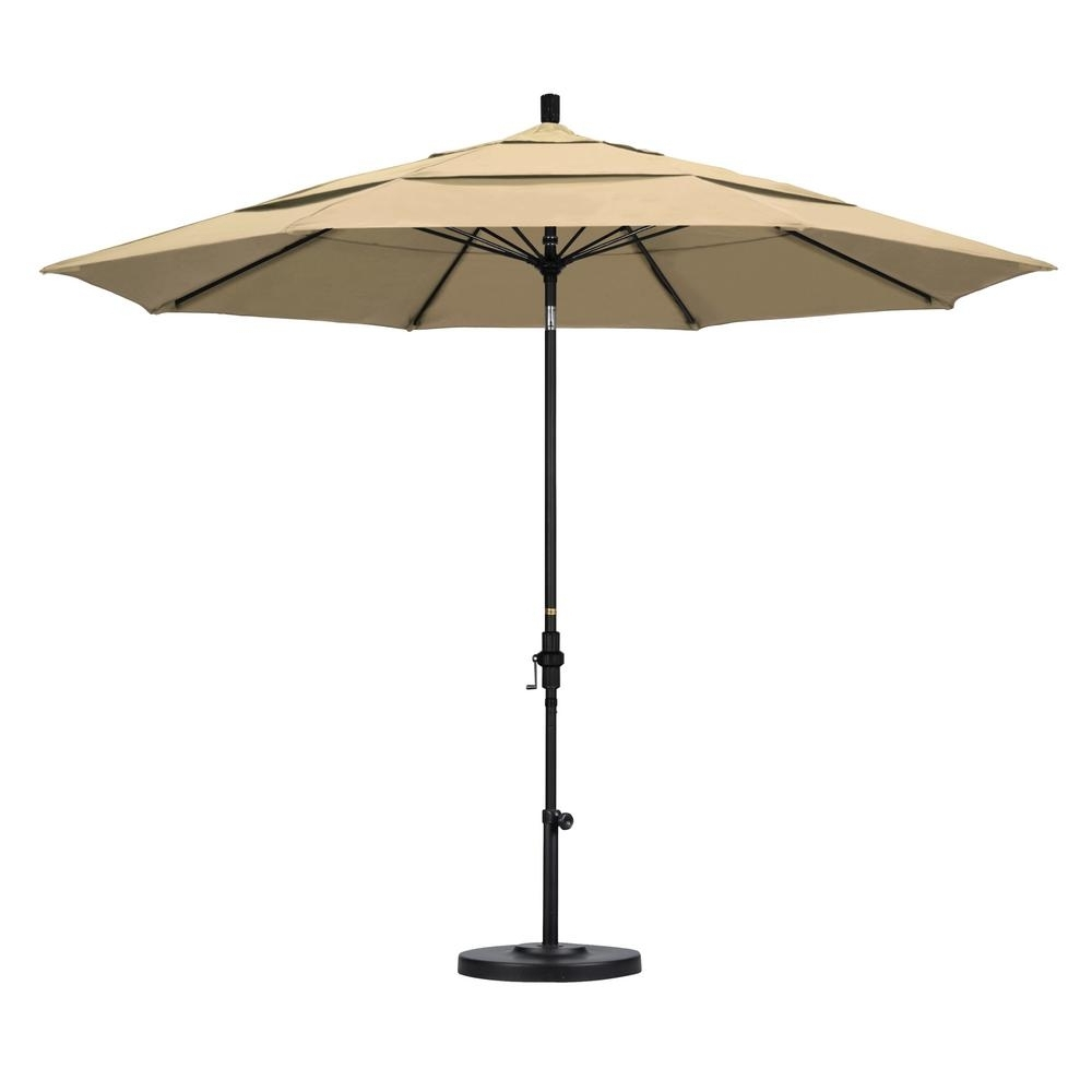 Most Recently Released Vented Patio Umbrellas Intended For California Umbrella 11 Ft (View 5 of 20)