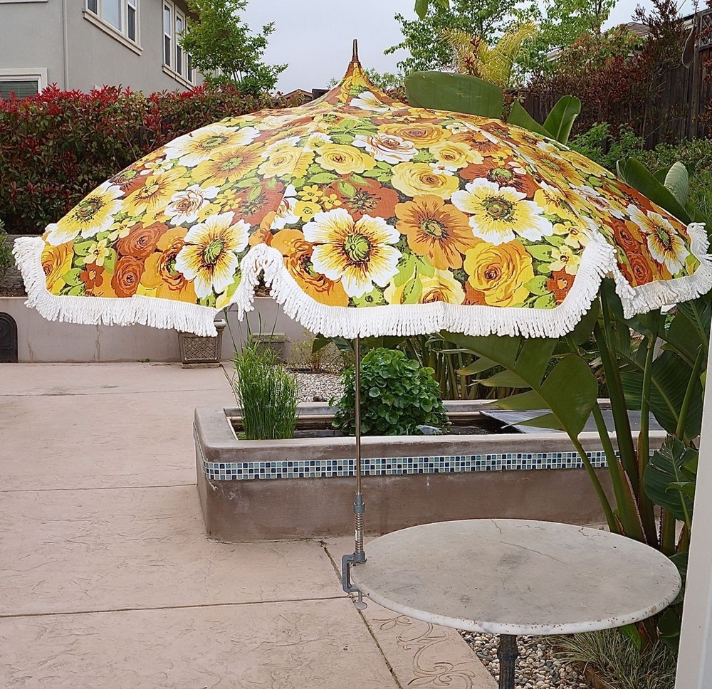Most Recently Released Vintage Patio Umbrellas For Sale Within 54 Vintage Patio Umbrella, 100 Retro Patio Umbrella Outdoor Patio (View 7 of 20)