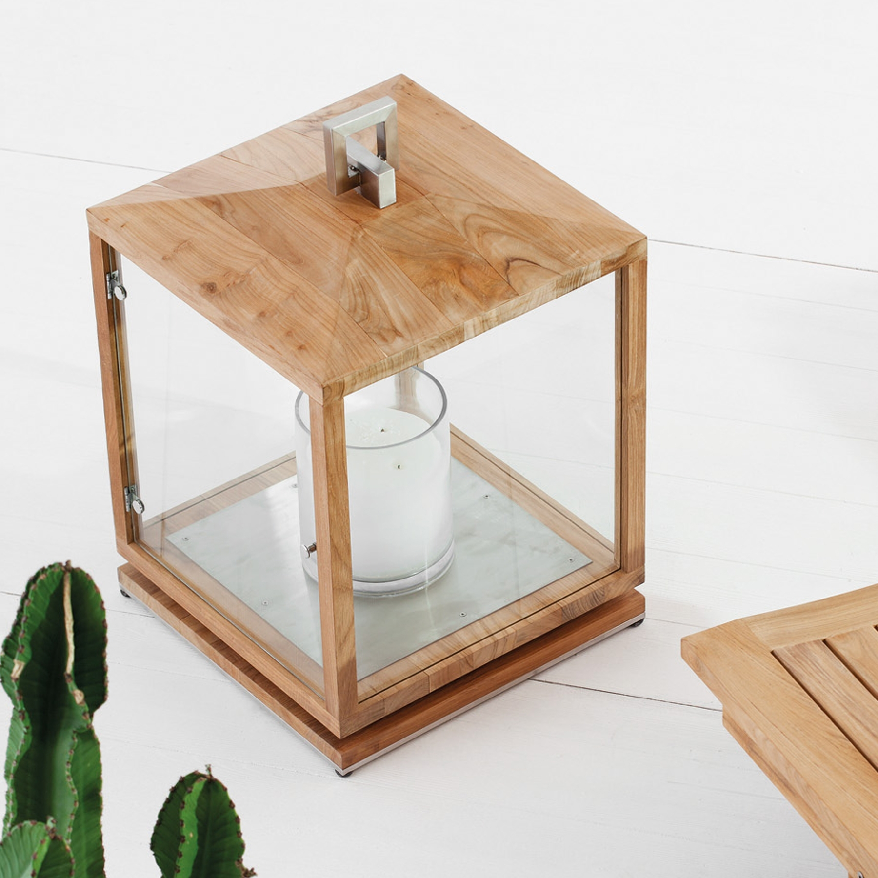 Most Up To Date Essence Teak Outdoor Lantern (View 7 of 20)