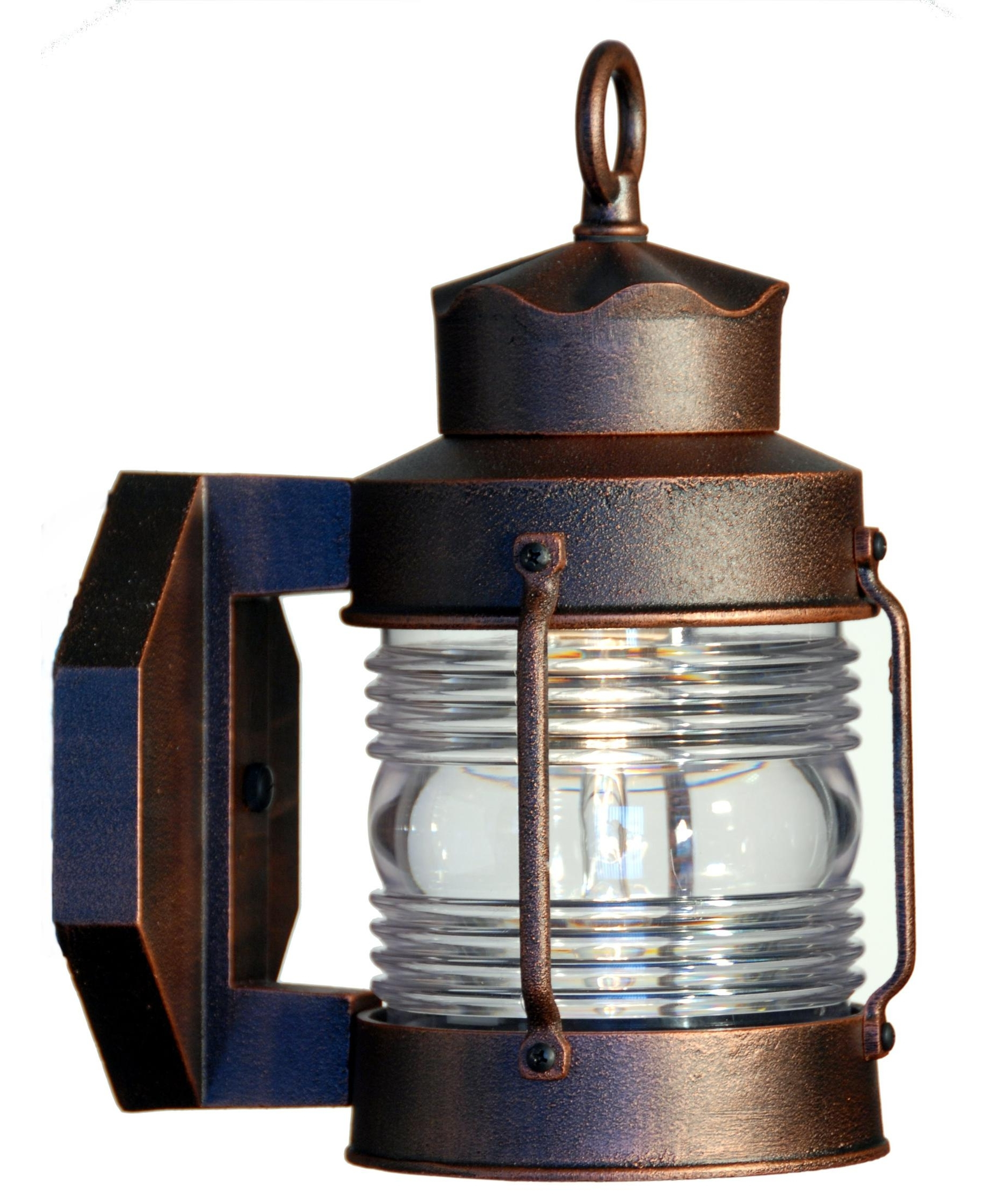 Most Up To Date Hanover Lantern B8609 Avalon Small 7 Inch Wide 1 Light Outdoor Wall Within Nickel Outdoor Lanterns (View 13 of 20)