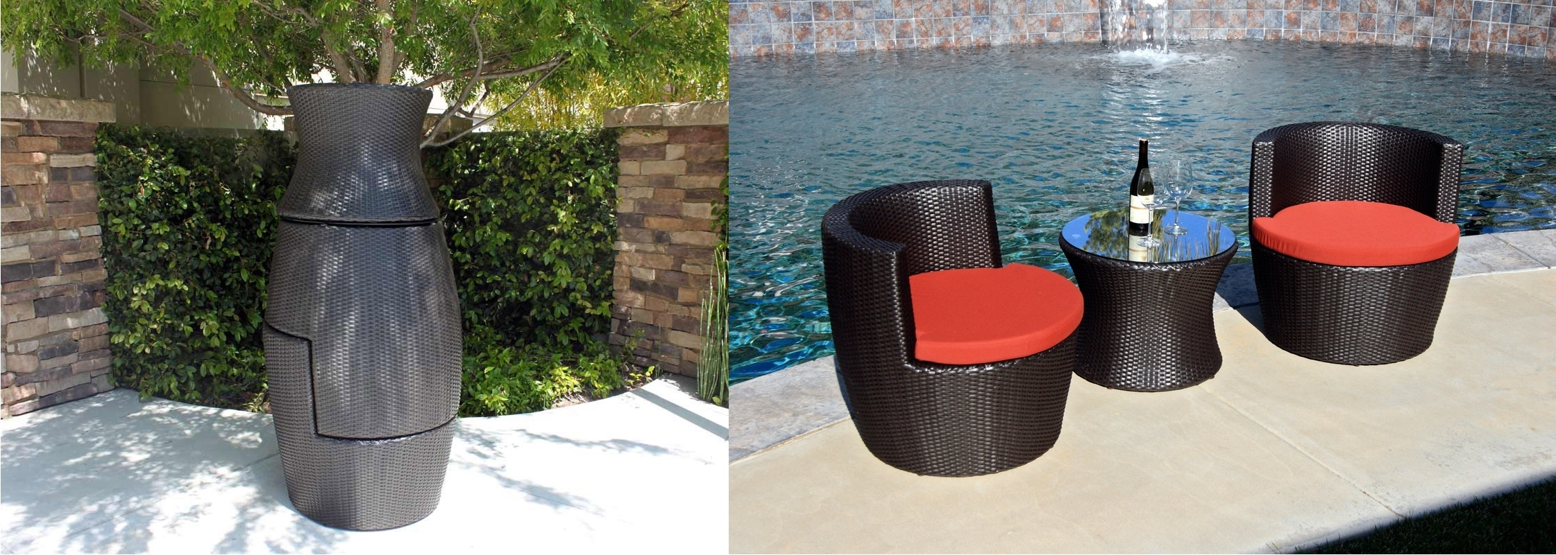 Most Up To Date How To Properly Store Wicker Furniture In The Winter With Regard To Krevco Patio Umbrellas (View 13 of 20)
