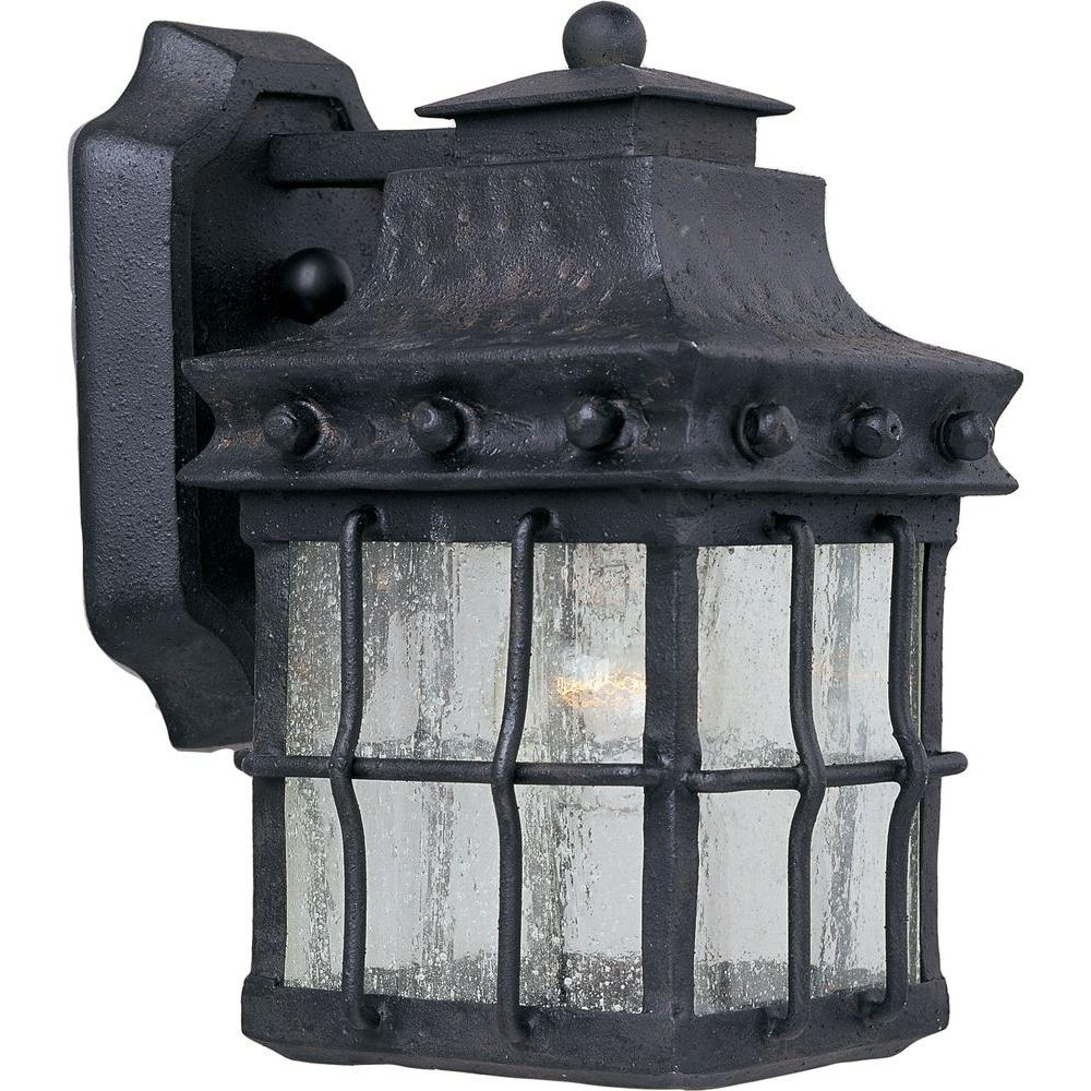 Most Up To Date Maxim Lighting Nantucket 1 Light Country Forge Outdoor Wall Mount Pertaining To Nantucket Outdoor Lanterns (View 17 of 20)