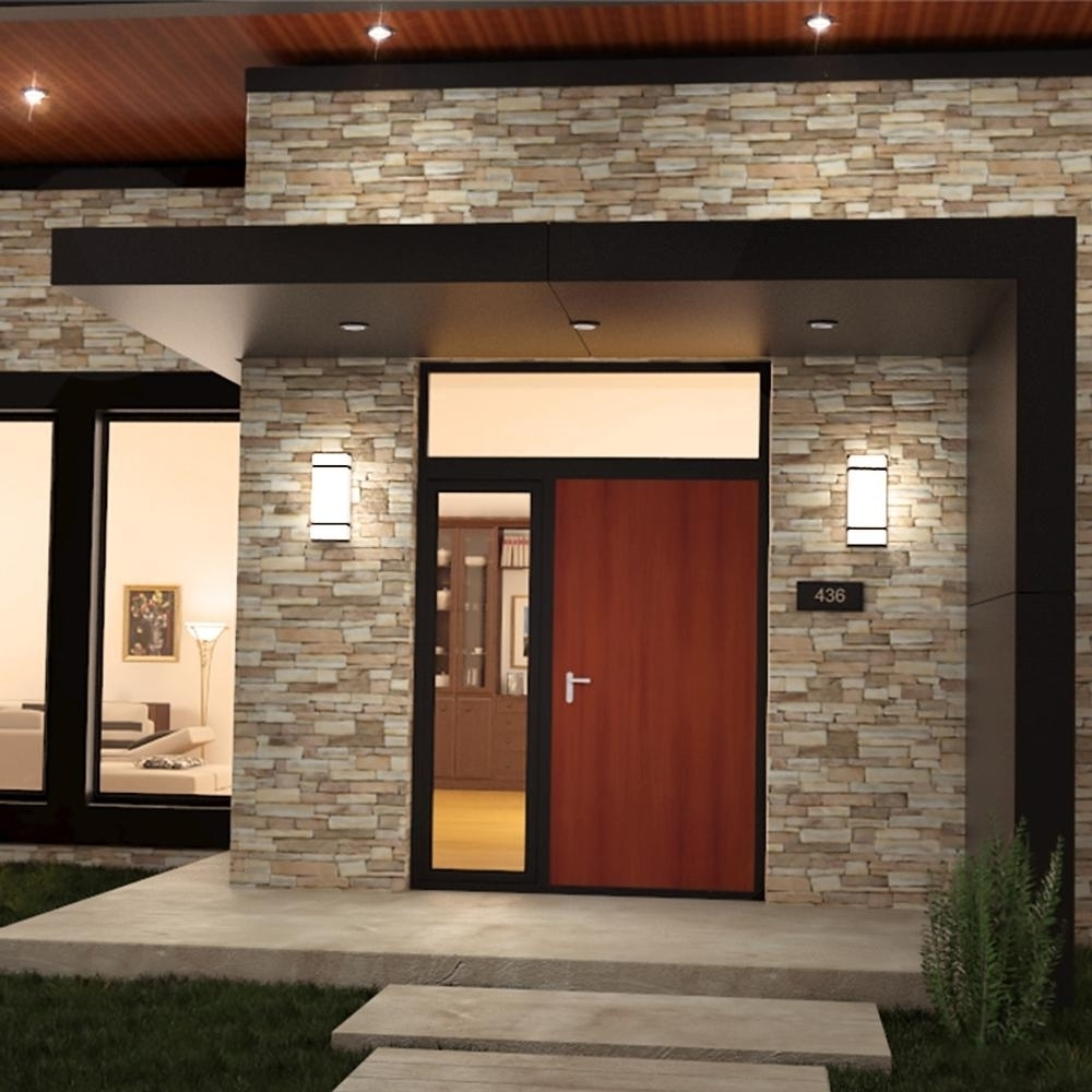 Most Up To Date Outdoor Garage Lanterns Intended For 2018 Popular Outdoor Wall Garage Lights (View 8 of 20)