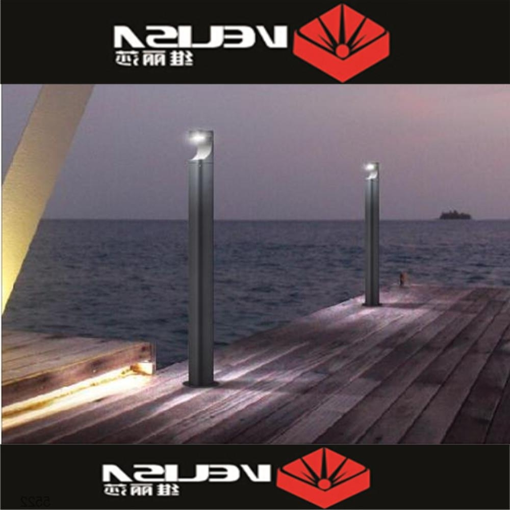 Most Up To Date Outdoor Lantern For Gardens Decorative Outdoor Standing Lamps Led Pertaining To Outdoor Lanterns For Pillars (View 9 of 20)