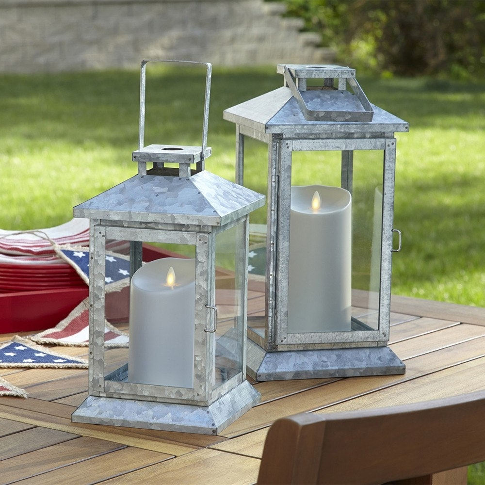 Most Up To Date Outdoor Luminara Lanterns Within Luminara Outdoor Flameless Led Pillar Candles Waterproof Battery (View 9 of 20)