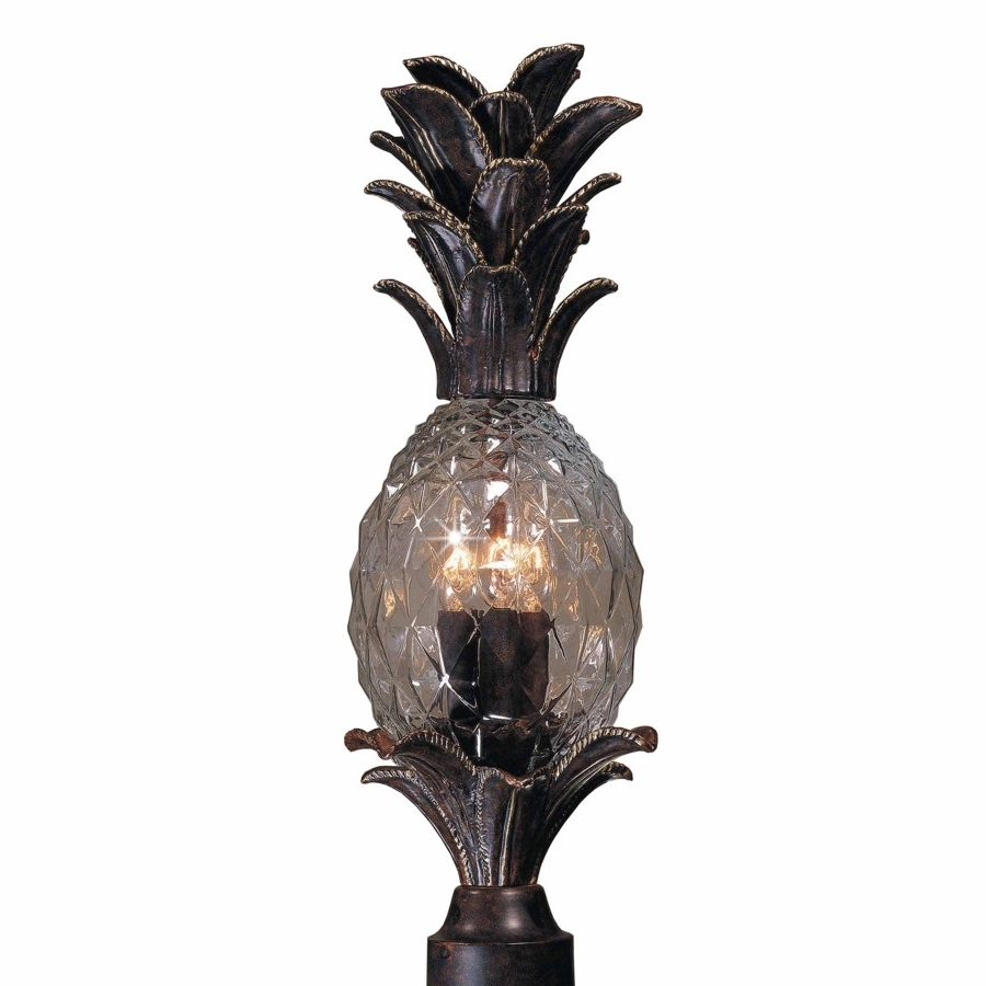 Most Up To Date Outdoor Pineapple Lanterns Throughout Pineapple Led Outdoor Lighting: 18 Excellent Pineapple Outdoor (View 8 of 20)