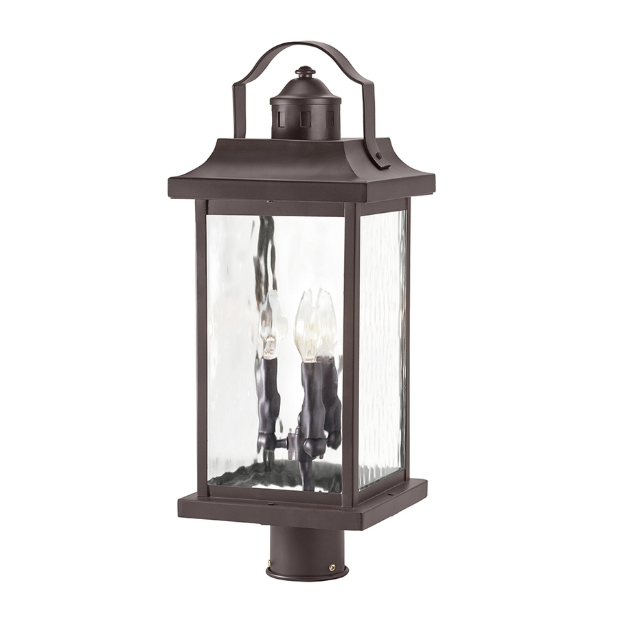 Most Up To Date Outdoor Post Lanterns Within Shop Post Lighting At Lowes (View 9 of 20)