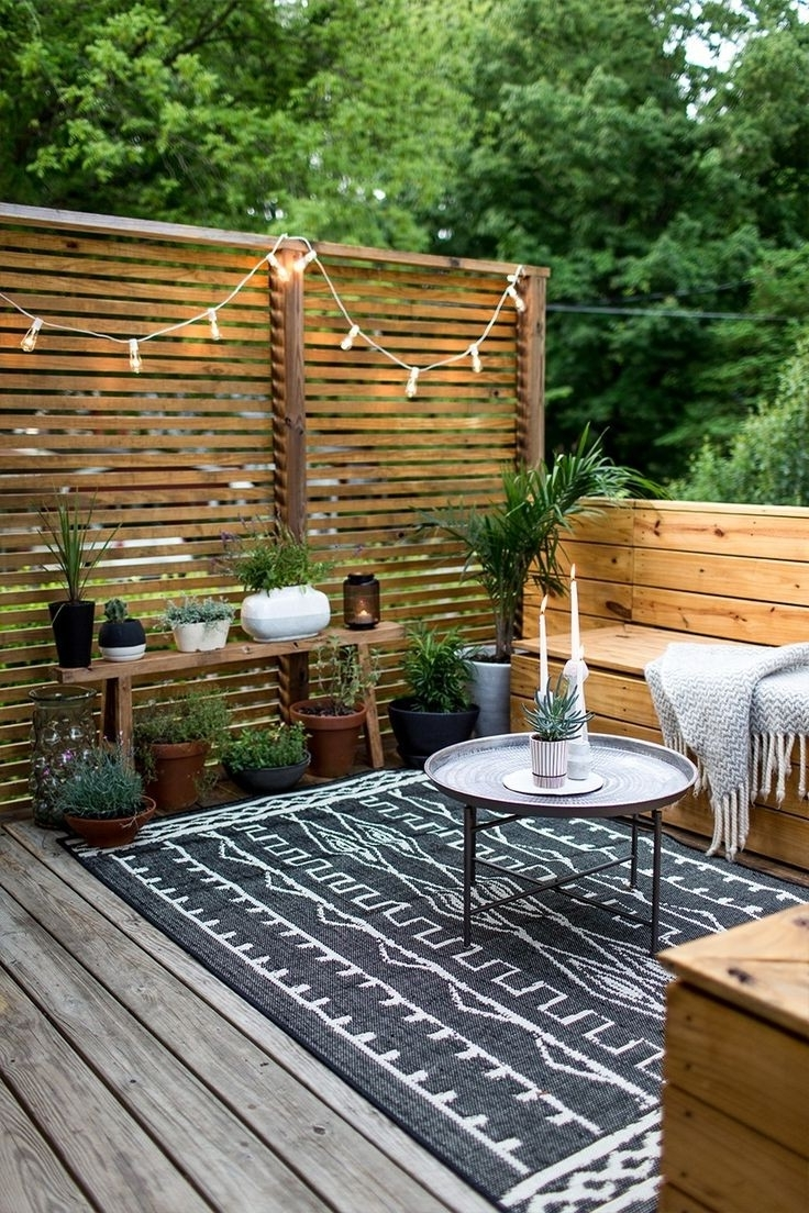 Most Up To Date Patio Umbrellas For Small Spaces In Small Outdoor Spaces Small Decks Random 2 Small Deck Patio Furniture (View 14 of 20)