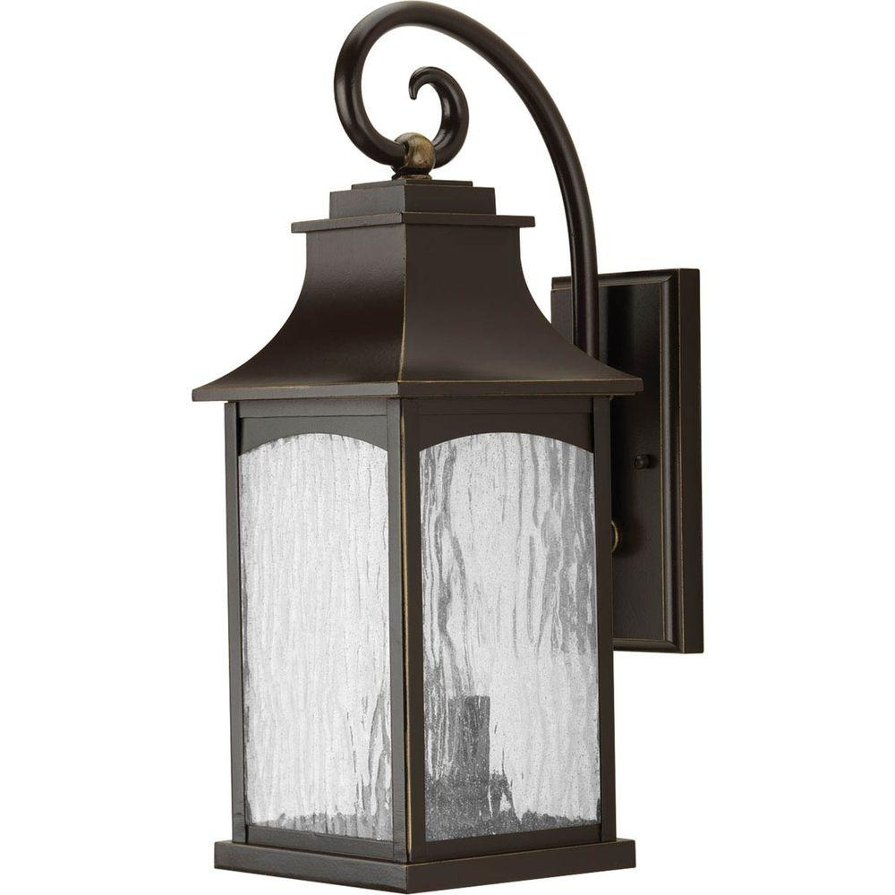 Most Up To Date Progress Lighting Maison Collection 2 Light Oil Rubbed Bronze Regarding Home Depot Outdoor Lanterns (View 20 of 20)