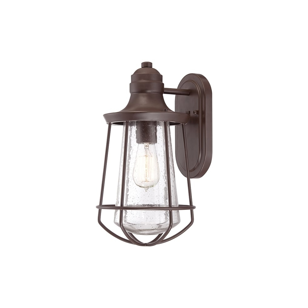 Most Up To Date Quoizel Marine Outdoor Medium Wall Lantern In Western Bronze Finish With Quoizel Outdoor Lanterns (View 6 of 20)