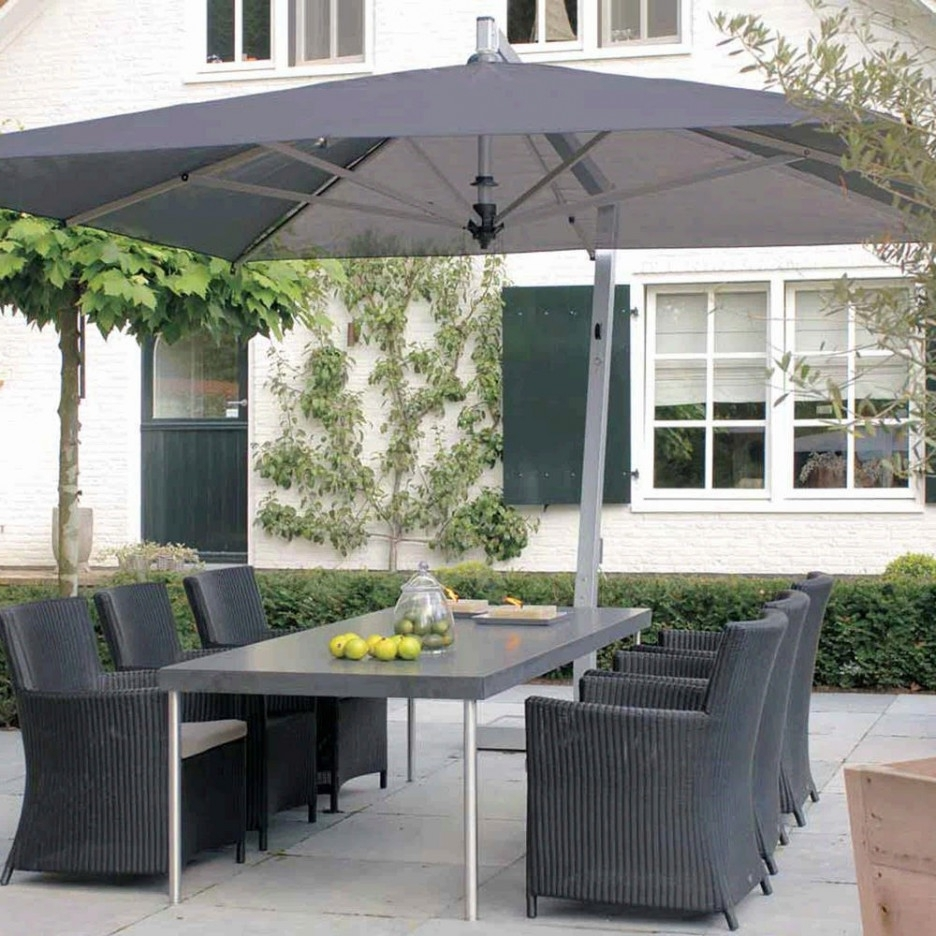 Most Up To Date Rectangle Patio Umbrellas For The Most Amazing As Well As Gorgeous Remarkable Teak Patio Umbrella (View 11 of 20)