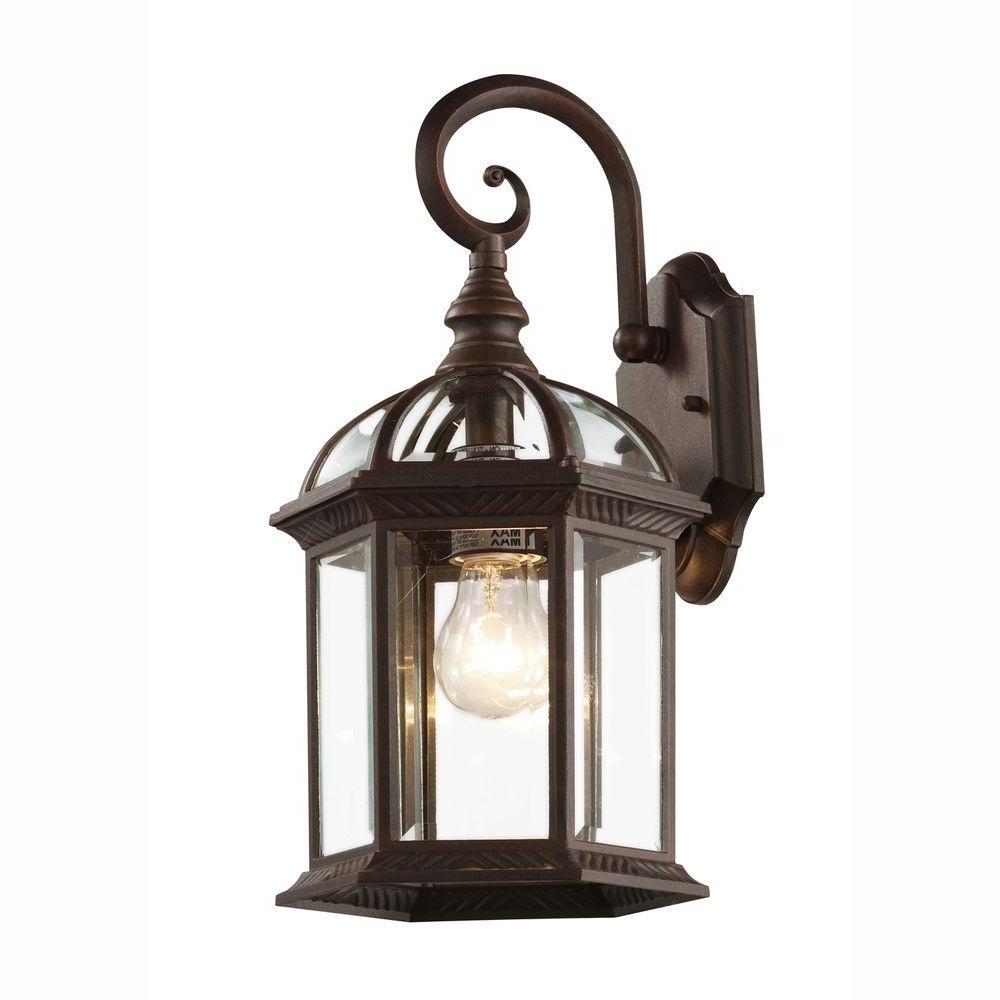 Most Up To Date Rust Proof Outdoor Lanterns Regarding Brown – Outdoor Wall Mounted Lighting – Outdoor Lighting – The Home (View 6 of 20)
