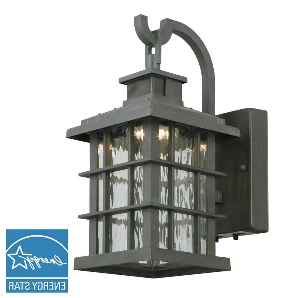 Motion Sensing – Outdoor Wall Mounted Lighting – Outdoor Lighting With Regard To Popular Inexpensive Outdoor Lanterns (View 15 of 20)