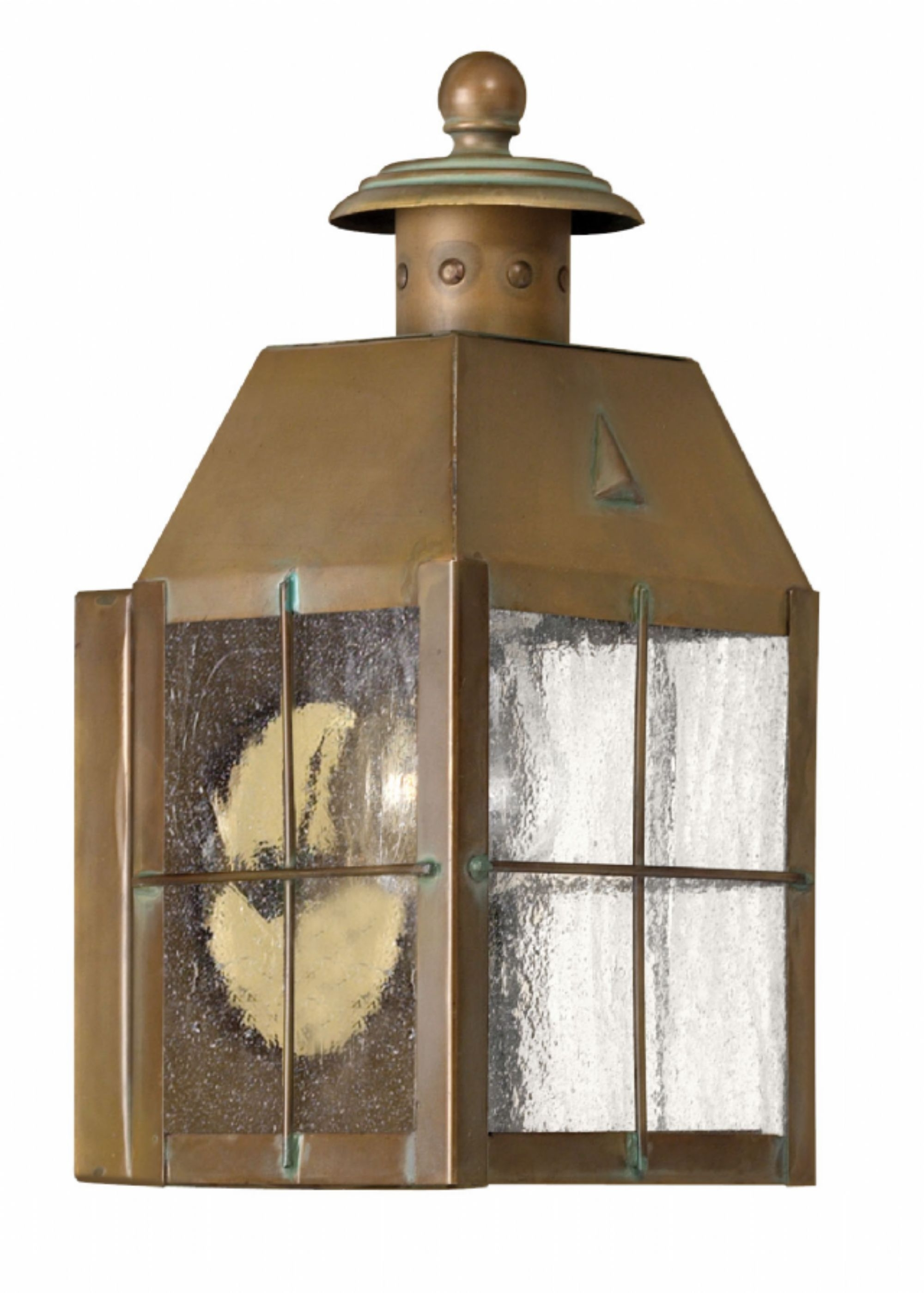 Nantucket Outdoor Lanterns Intended For Well Liked Aged Brass Nantucket > Exterior Wall Mount (View 5 of 20)