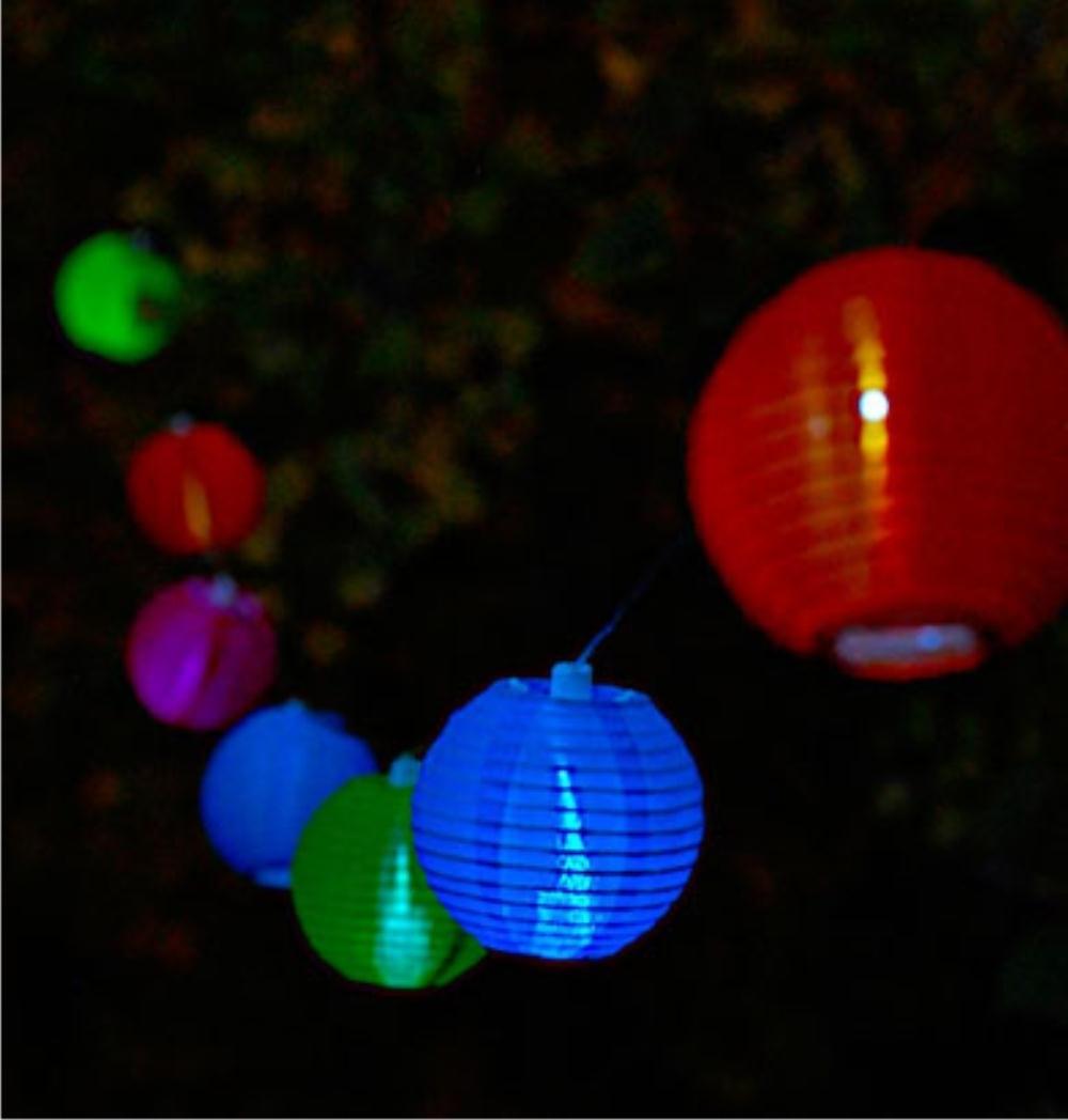 Newest Allsop Home & Garden – Soji™ Solar String Lights – Tropical Fruit – Regarding Outdoor Tropical Lanterns (View 8 of 20)