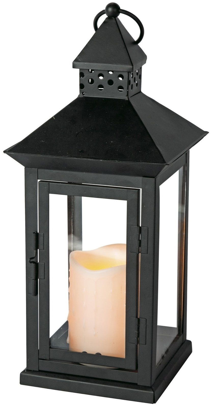 Newest Indoor Outdoor Flameless Candle Lantern W/ Timer, 8.5 X (View 11 of 20)