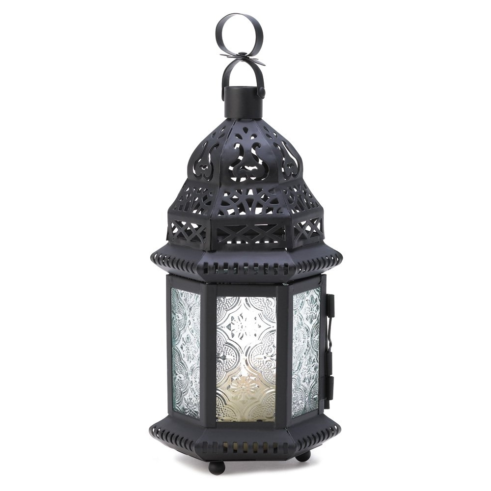 Newest Moroccan Lanterns, Decorative Candle Lanterns Light For Candles Regarding Outdoor Lanterns And Candles (Gallery 7 of 20)