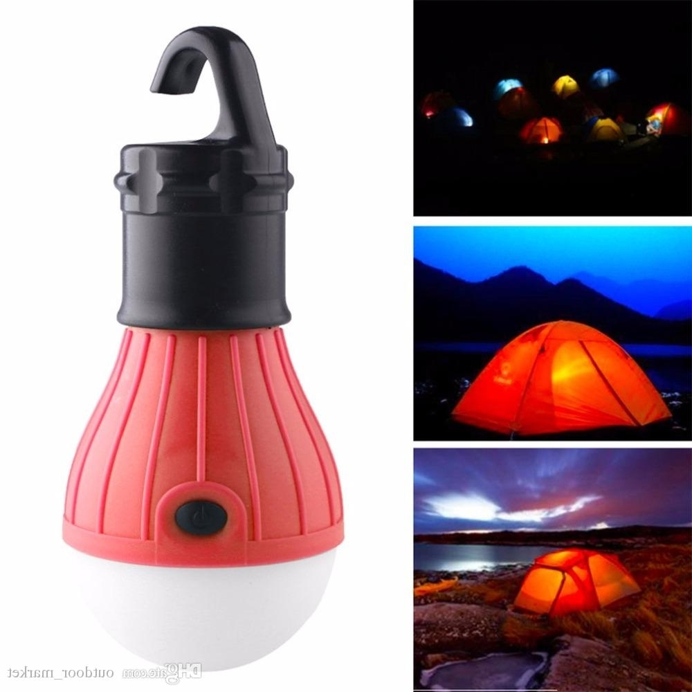 Newest Multifunctional Outdoor Bulb Working Led Tent Light Waterproof Pertaining To Outdoor Kerosene Lanterns (Gallery 15 of 20)