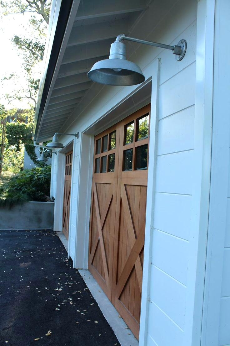Newest Outdoor Lanterns For Garage Intended For Front Doors : Outdoor Light Above Front Door Outdoor Front Door (View 11 of 20)