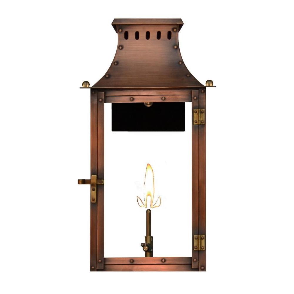 Newest Outdoor Propane Lanterns With Filament Design Amelia 1 Burner 21 In (View 7 of 20)