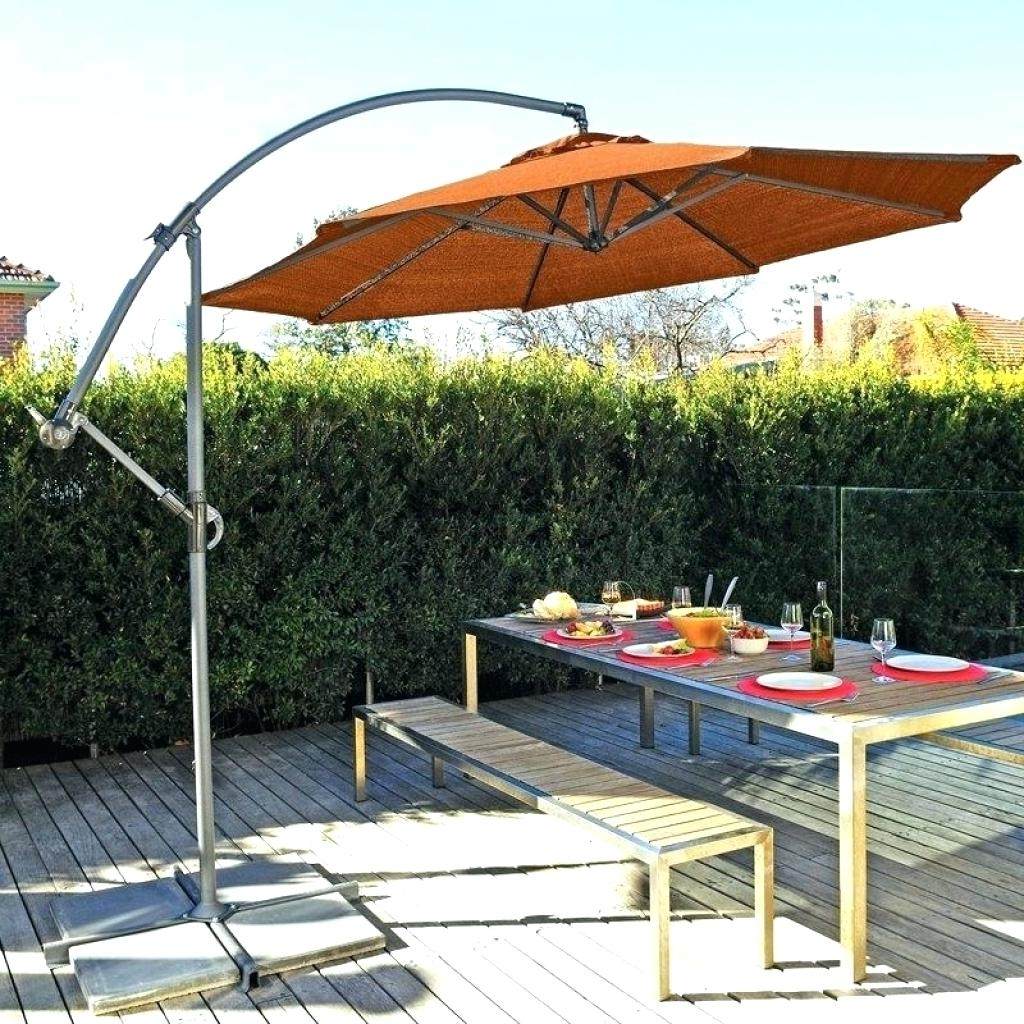 Newest Outdoor Umbrellas – Rockforriley With Regard To Patio Umbrellas With Wheels (View 18 of 20)