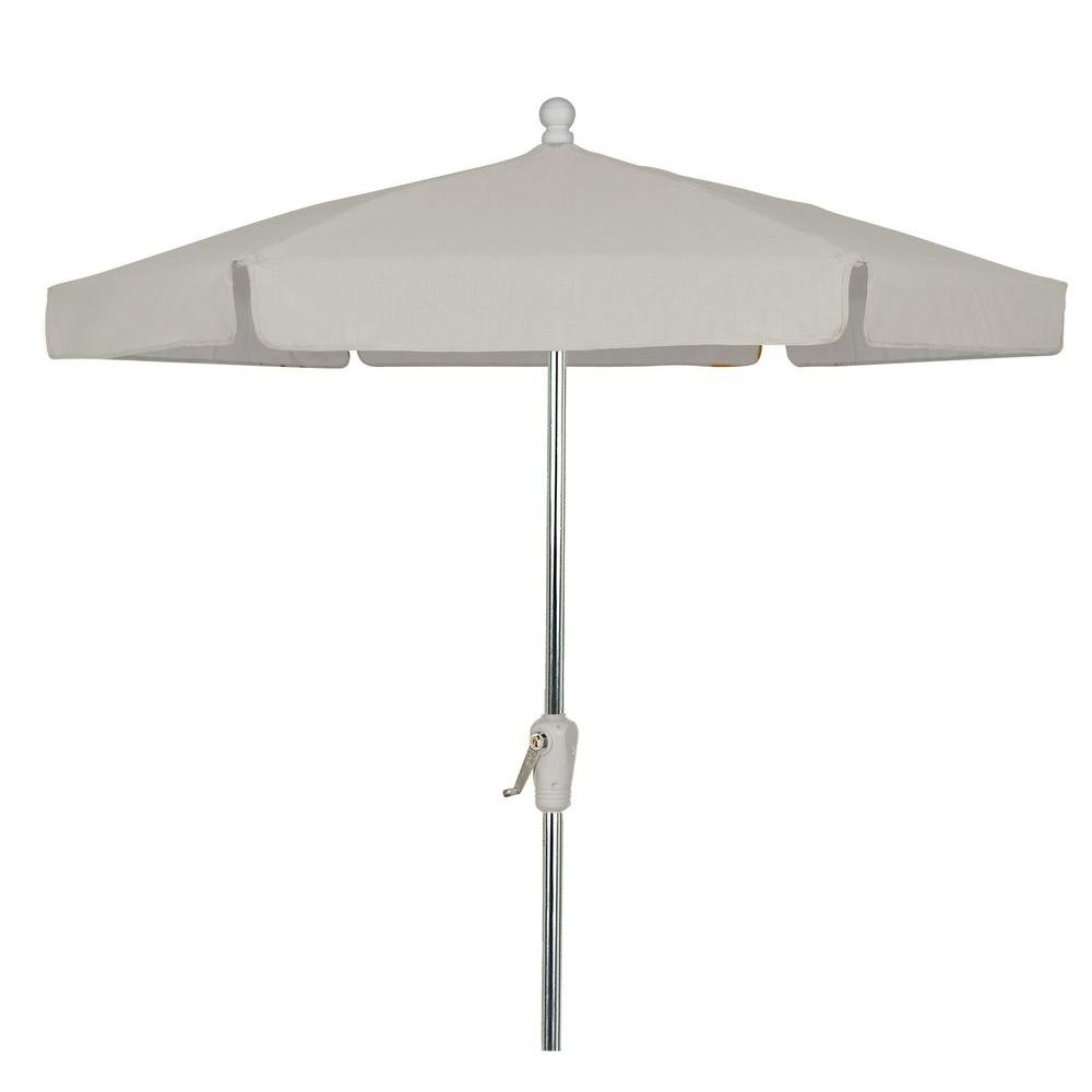 Newest Vinyl Patio Umbrellas With Fringe With Cantilever Umbrellas – Patio Umbrellas – The Home Depot (View 10 of 20)