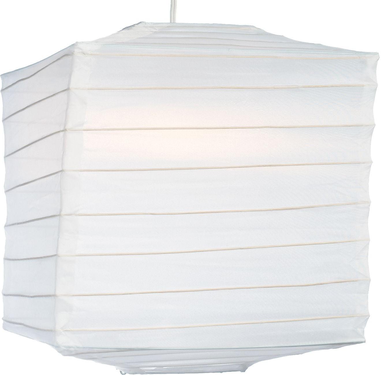 Newest White 10 Inch Square Outdoor Nylon Lantern – Luna Bazaar Pertaining To Outdoor Nylon Lanterns (Gallery 18 of 20)