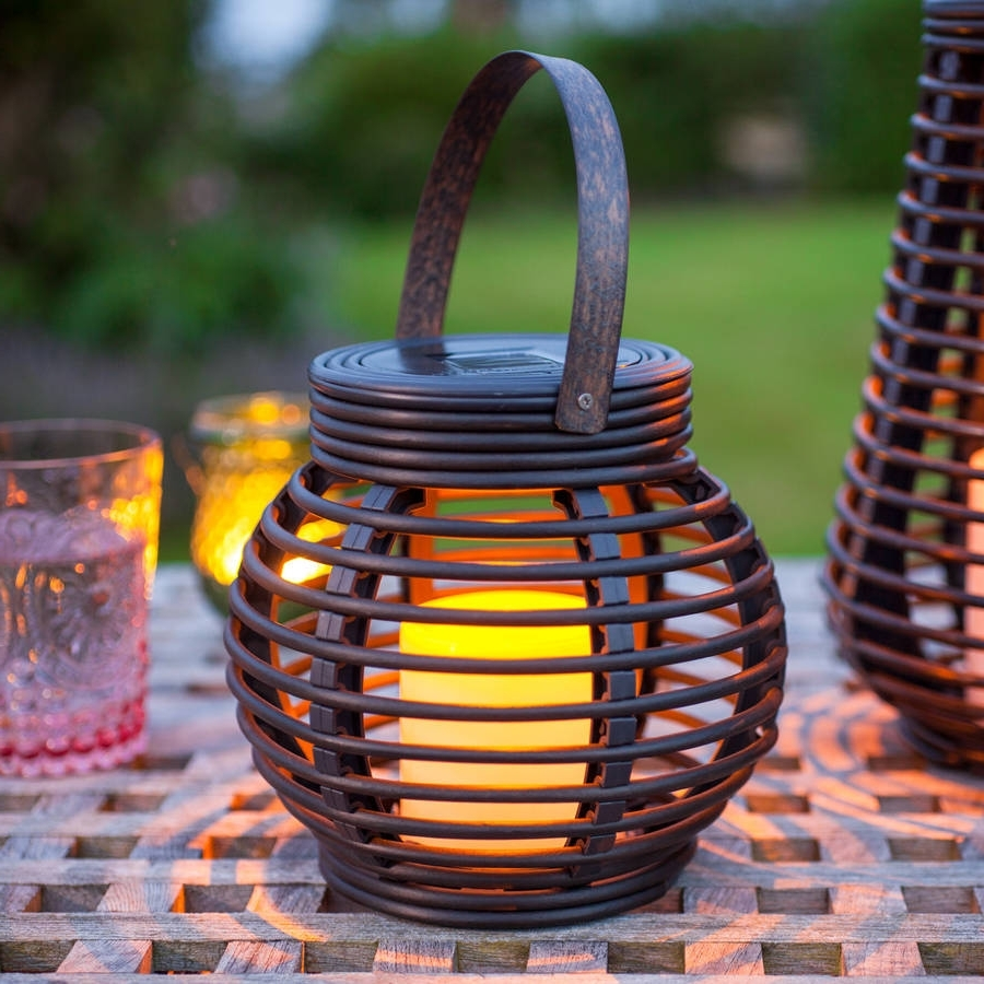 Featured Photo of Outdoor Rattan Lanterns