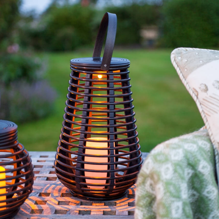 Notonthehighstreet Throughout Outdoor Rattan Lanterns (Gallery 5 of 20)