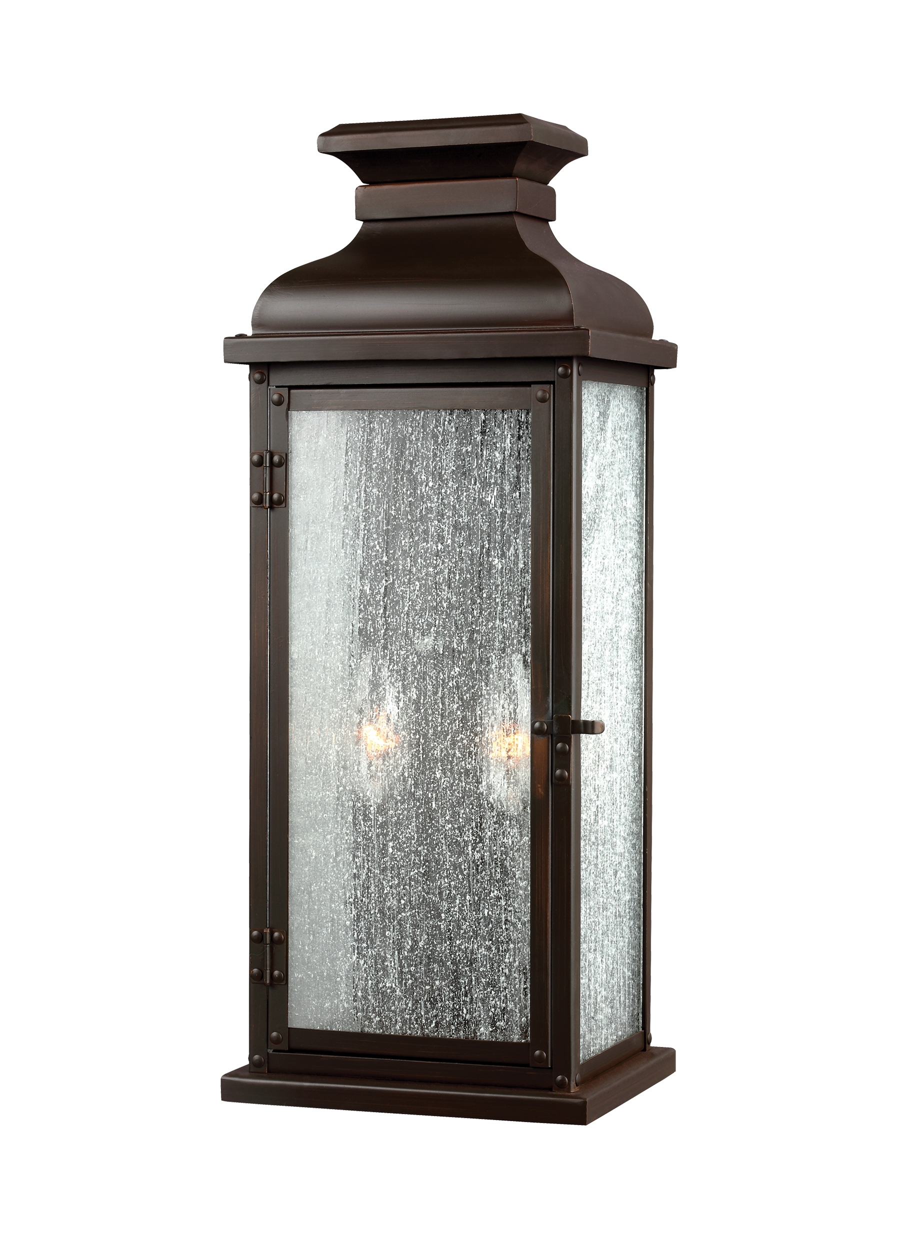 Ol11101Dac,2 – Light Outdoor Sconce,dark Aged Copper Pertaining To Favorite Italian Outdoor Lanterns (View 6 of 20)