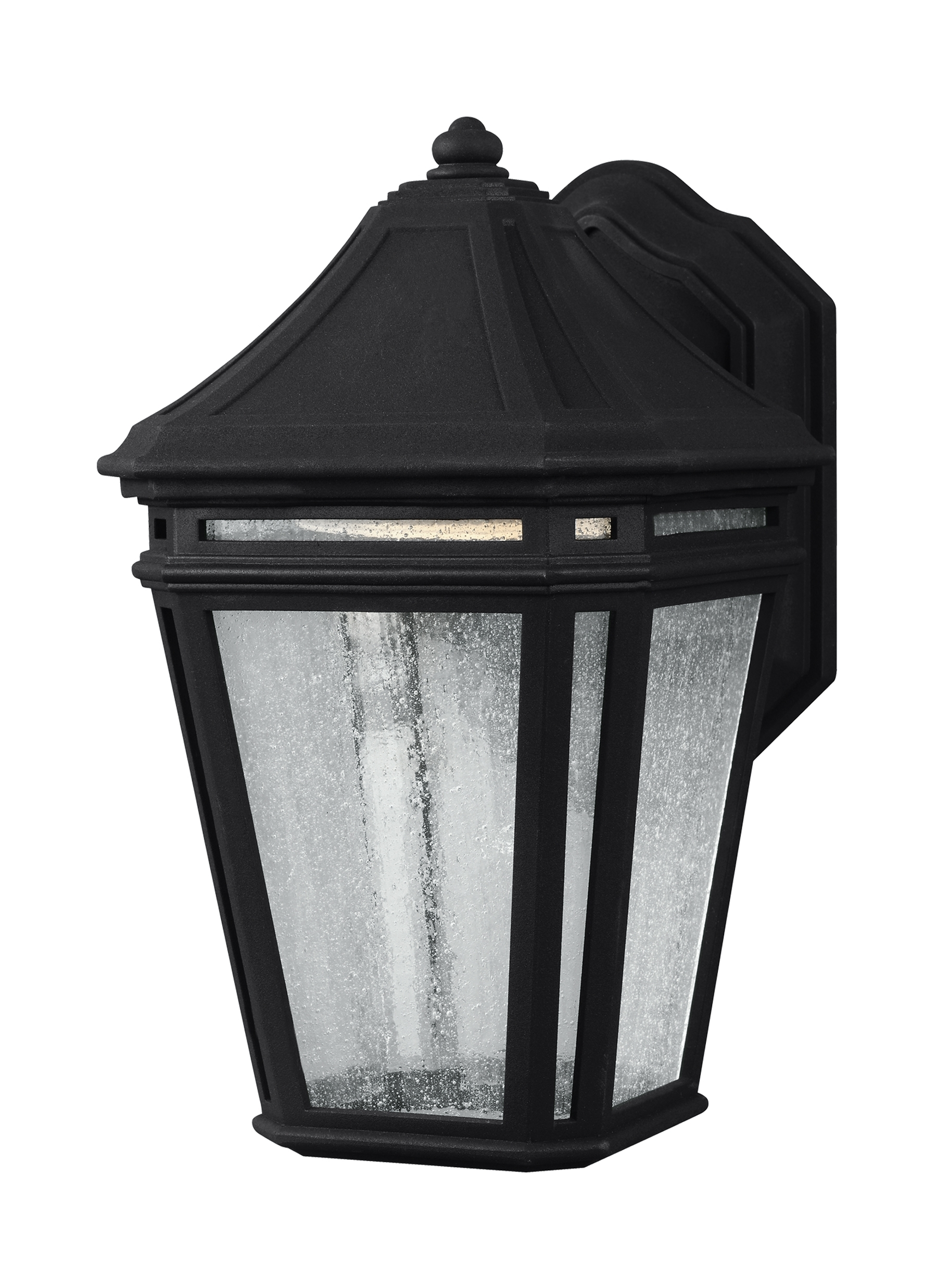 Ol11300Bk Led,led Outdoor Sconce,black In Well Liked Led Outdoor Lanterns (View 9 of 20)